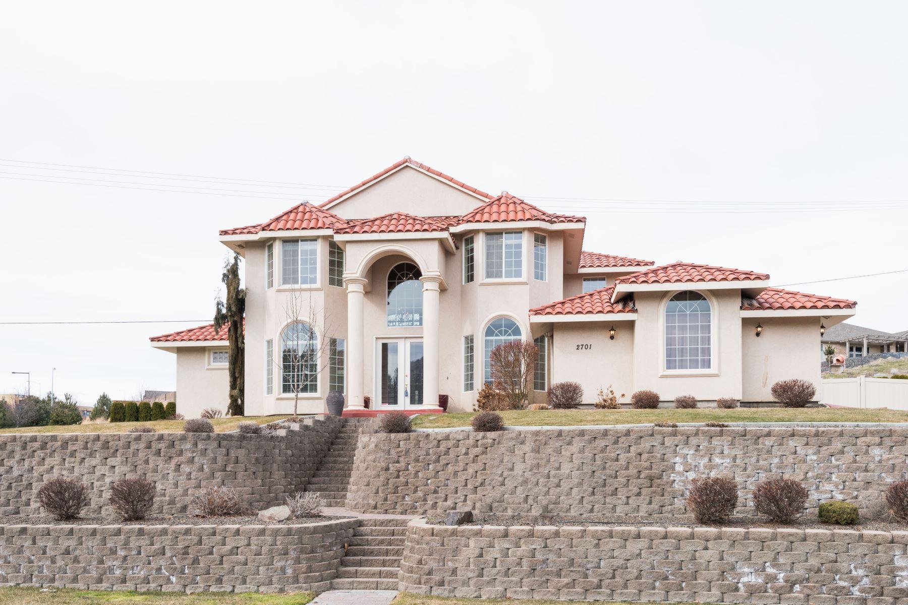 Частный односемейный дом для того Продажа на Elegant Home with RV Parking 2701 W. Canyon Lakes Dr Kennewick, Вашингтон 99337 Соединенные Штаты