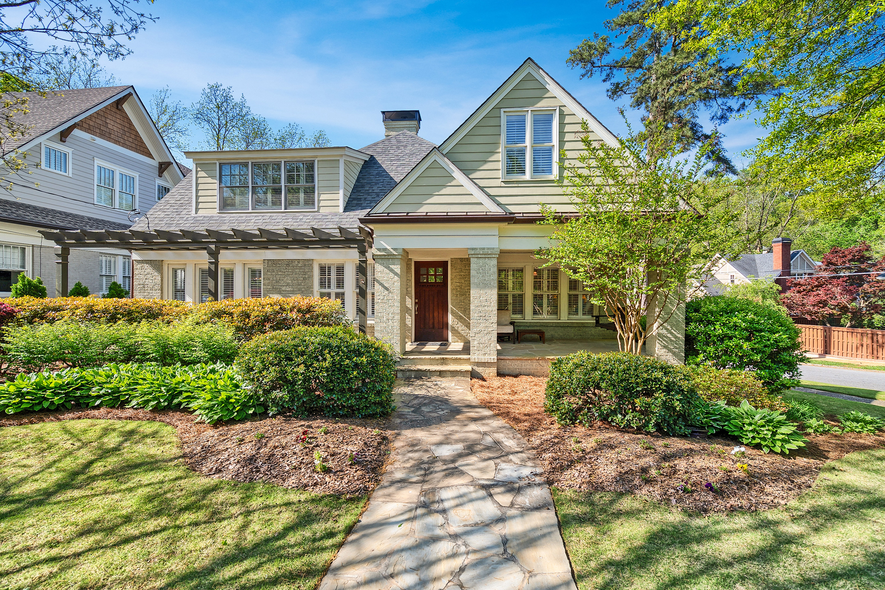 Single Family Home for Sale at Fantastic Total Renovation/Expansion In The Heart Of Morningside 1284 N Morningside Drive NE Atlanta, Georgia 30306 United States