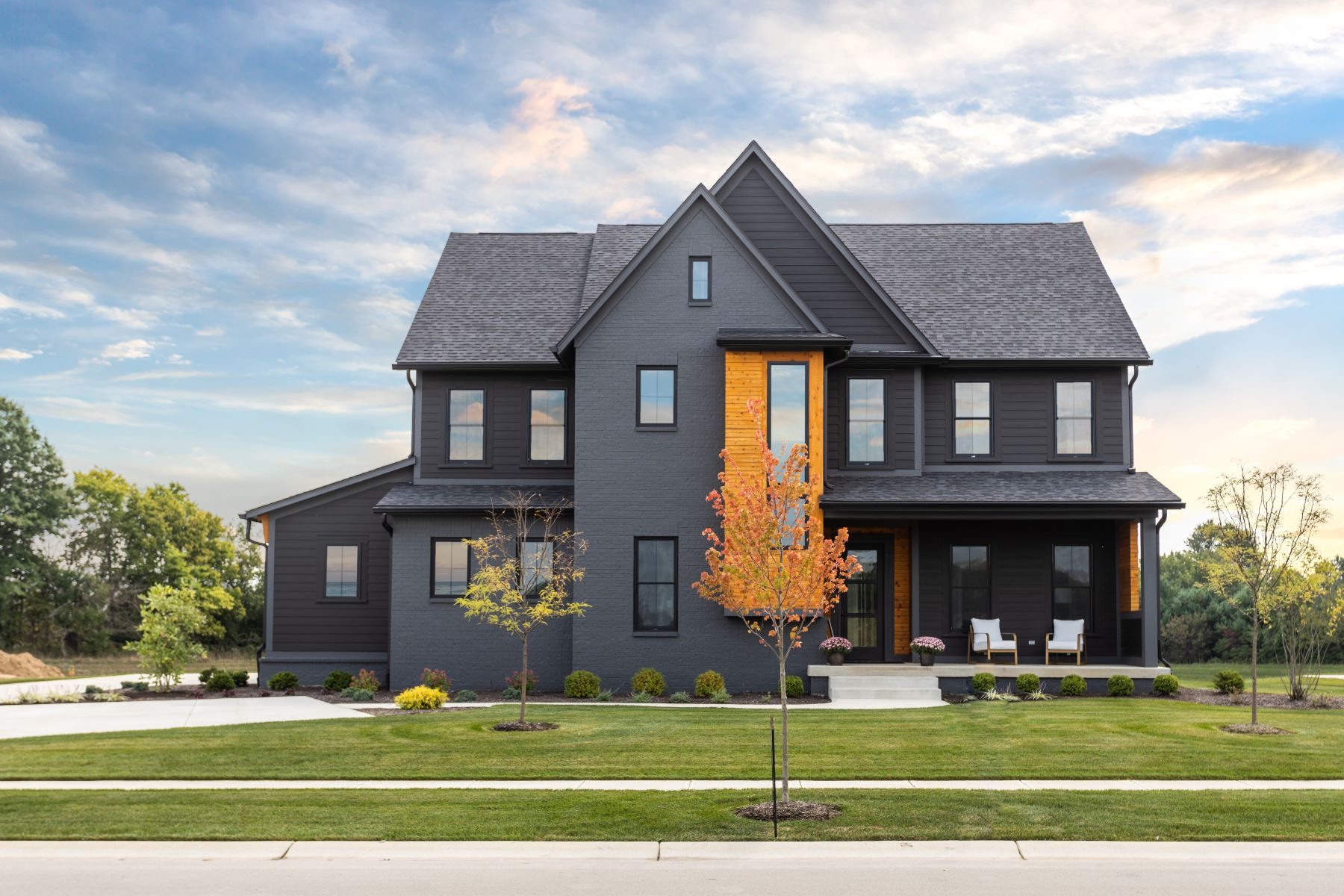 Single Family Homes for Active at Architectural Stunner in Pemberton 8135 Hanley Lane Zionsville, Indiana 46077 United States
