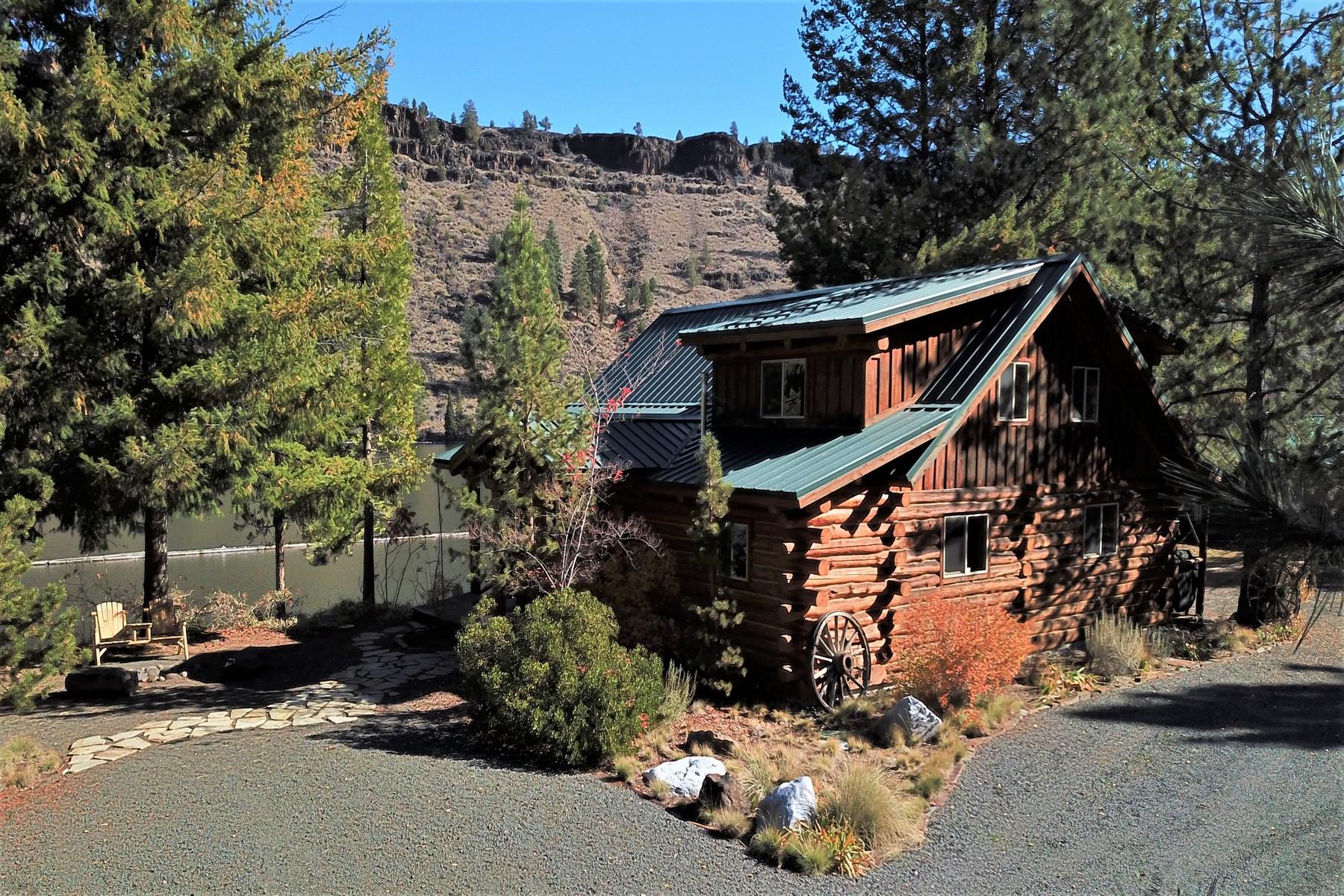 Single Family Homes pour l Vente à 2840 SW Street Creek Road Culver, OR Culver, Oregon 97334 États-Unis