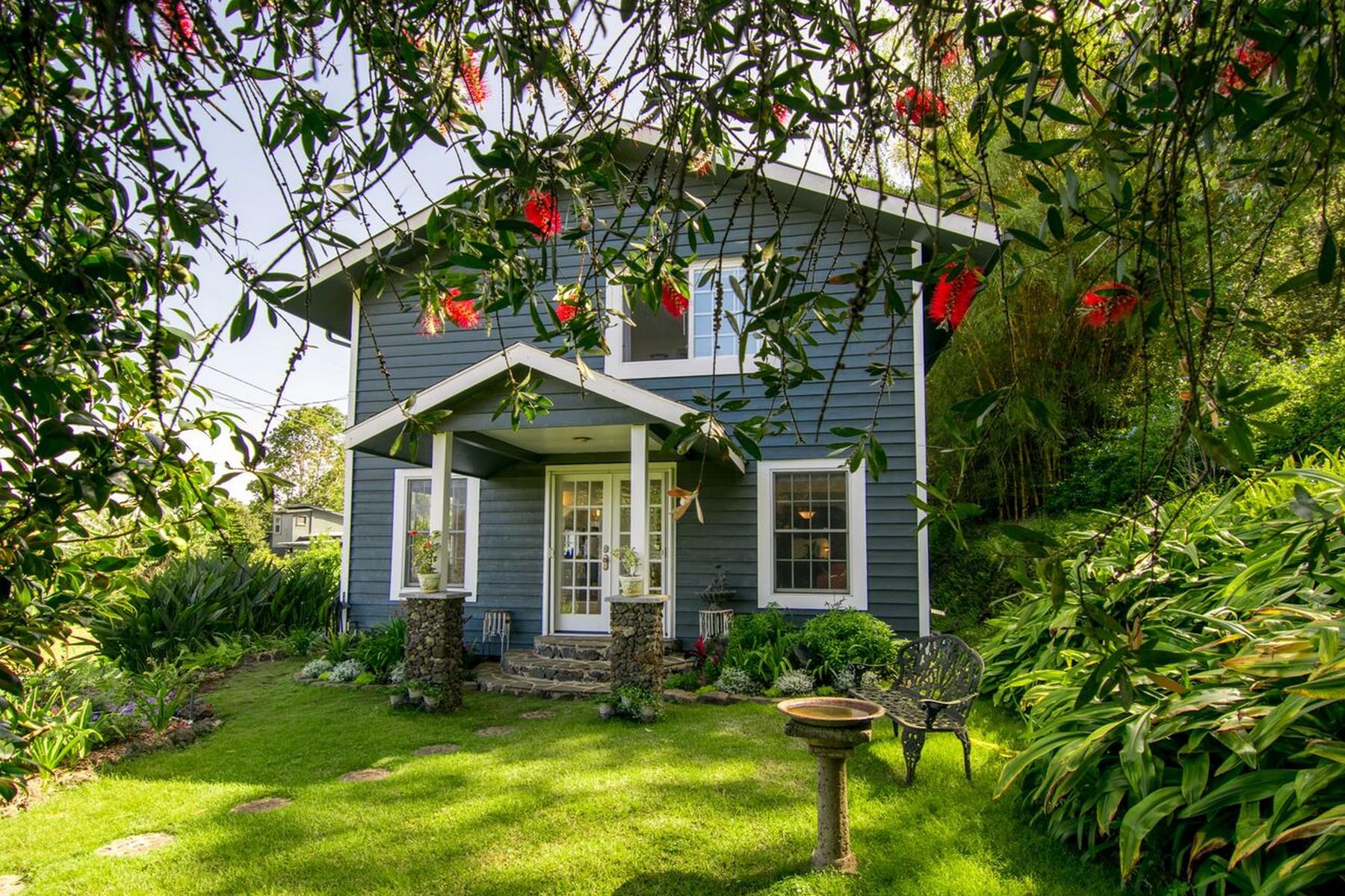 Maison unifamiliale pour l Vente à Keokea Charmer, Views, Home, Coffee Orchard, Bonus on 1.8 Acres 9310 Lower Kula Highway Kula, Hawaii, 96790 États-Unis