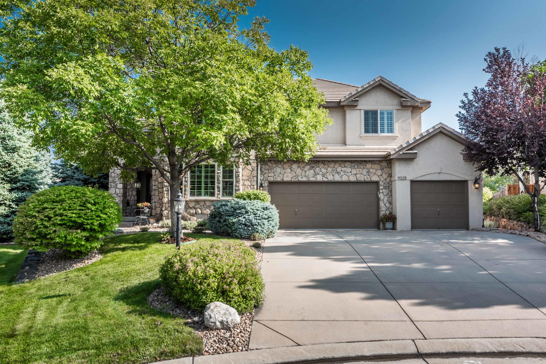 Single Family Home for Active at Rare, main floor Master Suite in coveted Heritage Hills ! 9325 E Aspen Hill Ln Lone Tree, Colorado 80124 United States