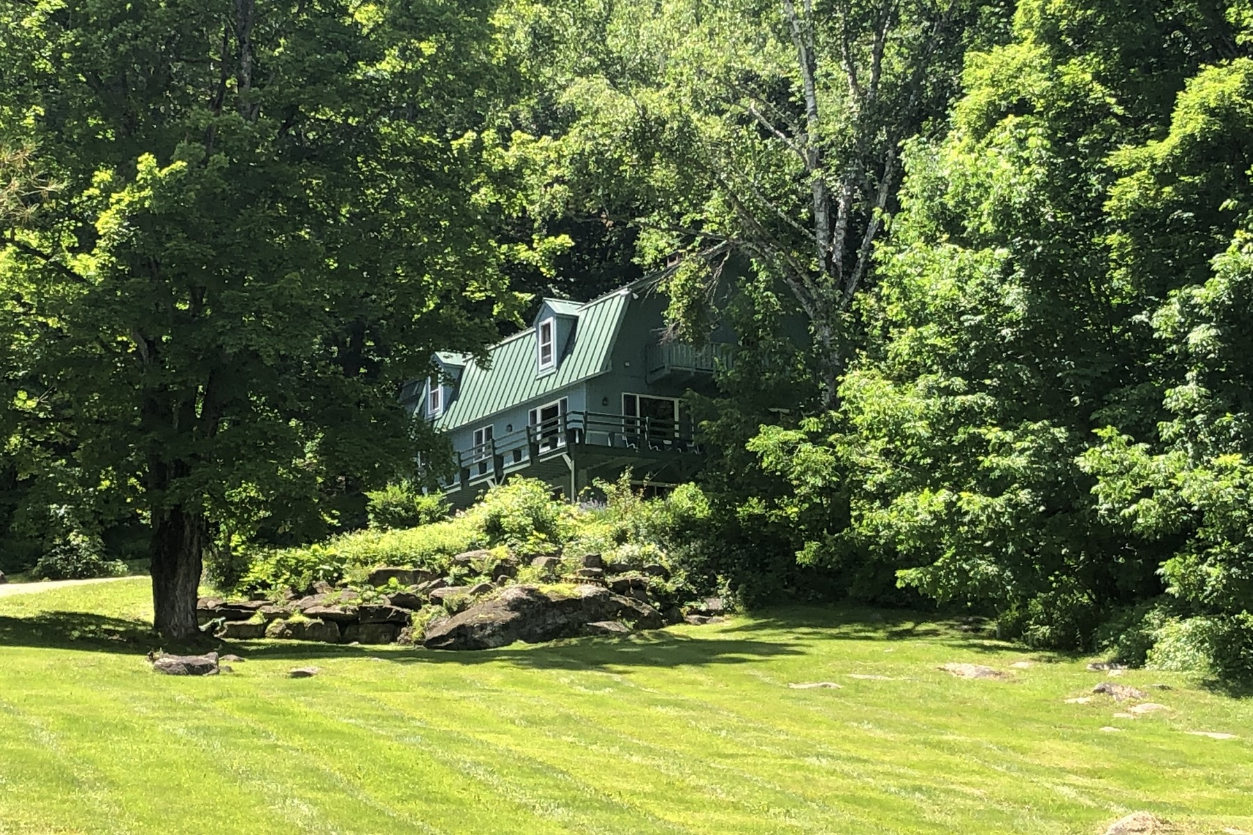 Single Family Homes for Sale at 26 Serene Acres with Long Views 10 Hapgood Pond Rd Landgrove, Vermont 05148 United States