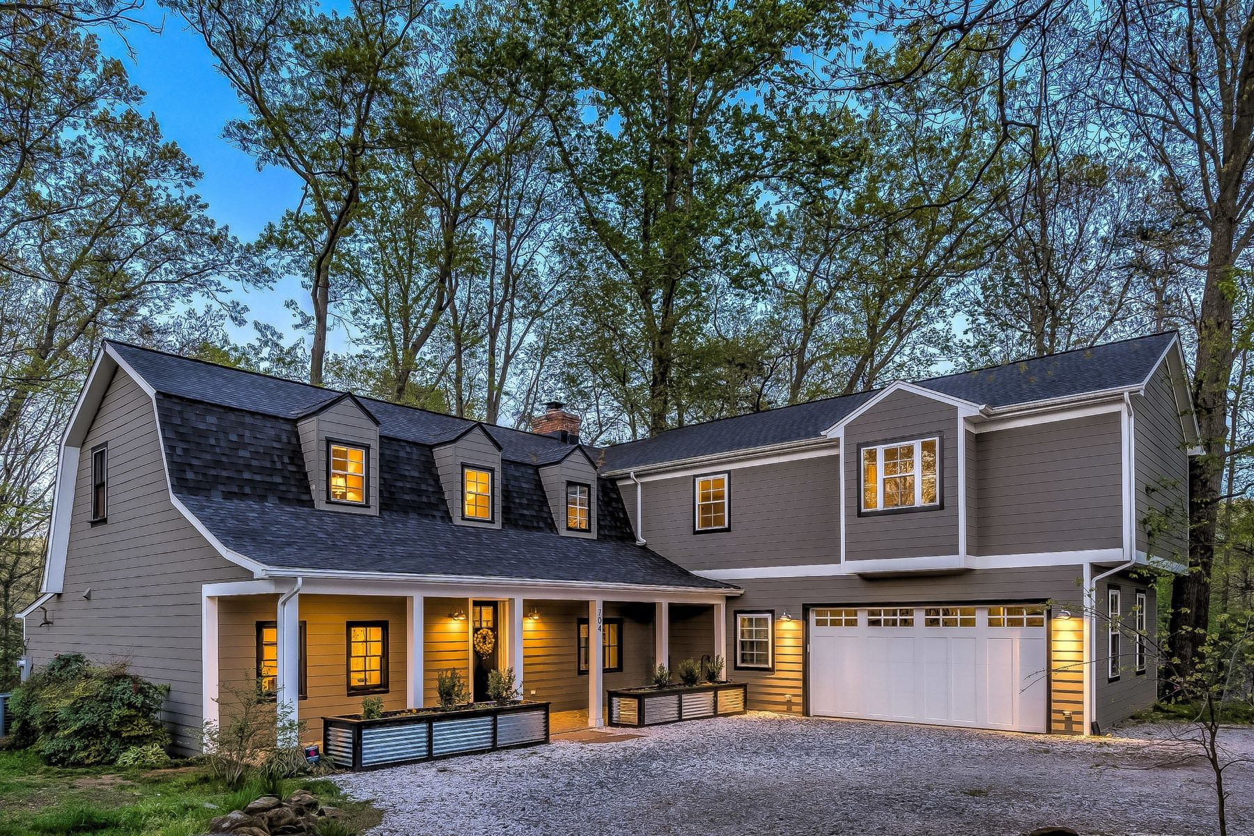 Single Family Homes for Sale at Meticulously Renovated Modern Farmhouse in Stewarts Purchase 704 Benfield Road Severna Park, Maryland 21146 United States
