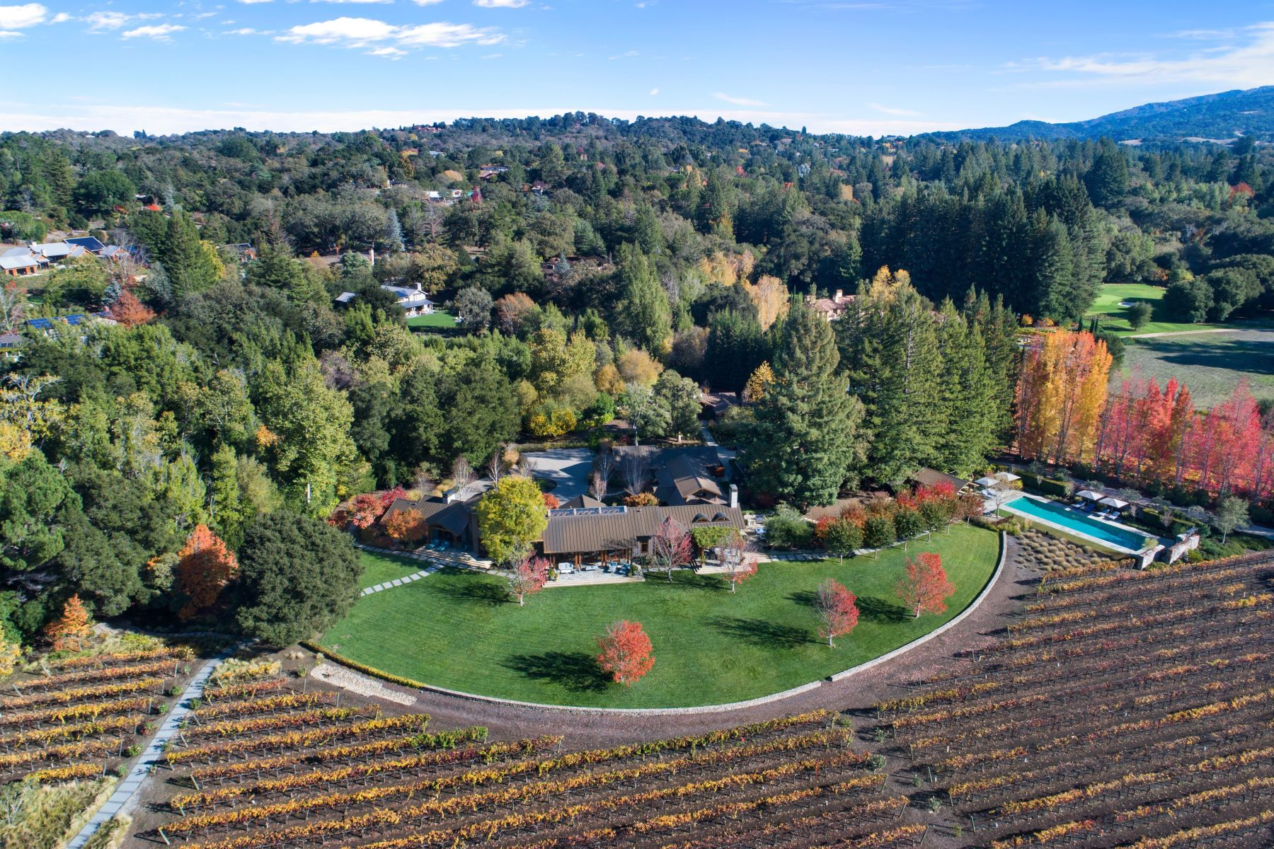 Maison unifamiliale pour l Vente à Woodside Vineyard Estate Woodside, Californie 94062 États-Unis