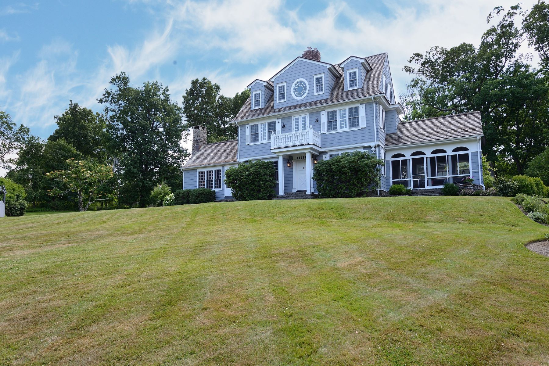 Single Family Home for Sale at Vintage Masterpiece Restored 187 County Highway 105 Woodbury (Highland Mills), New York 10930 United States