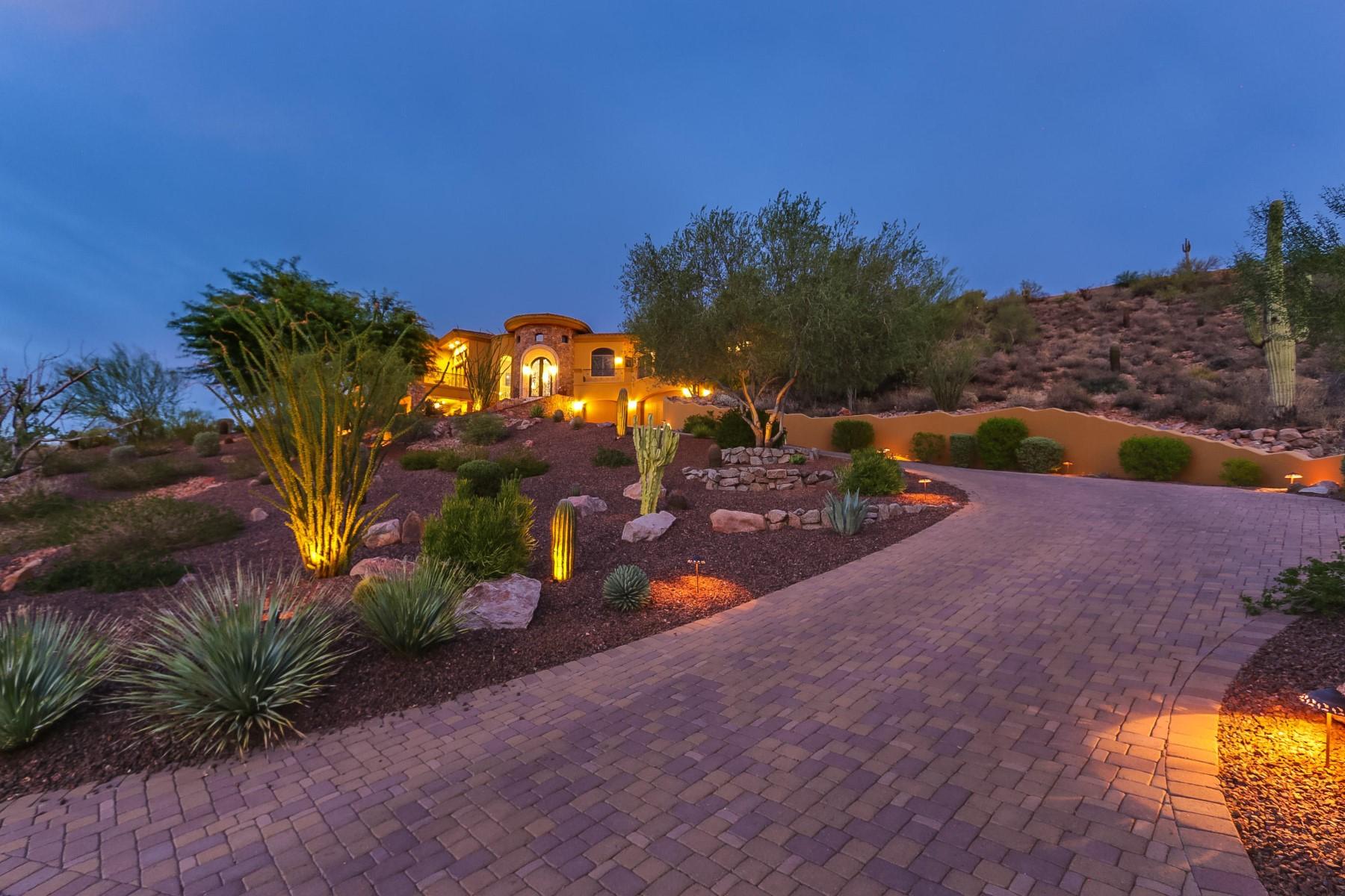 Single Family Home for Sale at One of the finest homes in FireRock Country Club 10141 N Mcdowell View Trl Fountain Hills, Arizona, 85268 United States