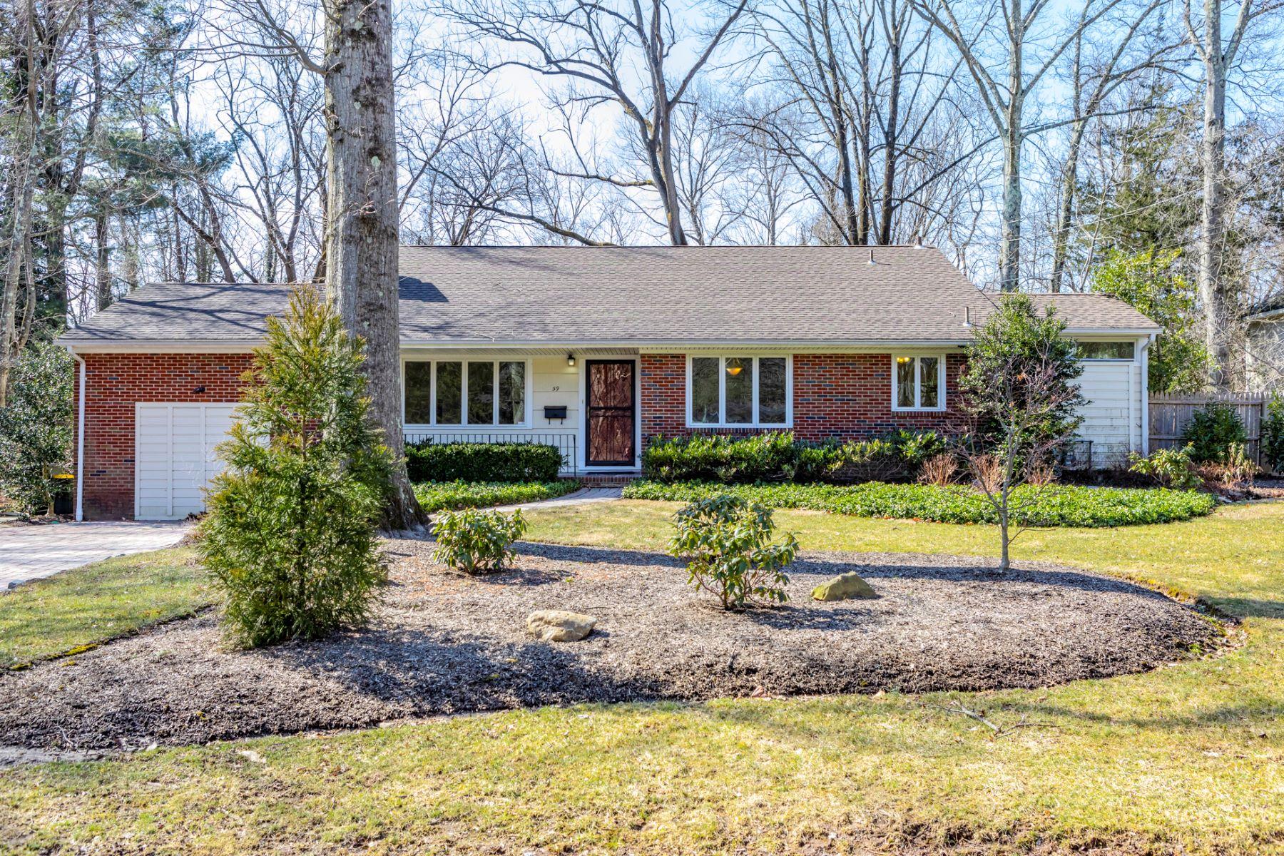 Property voor Verkoop op Light and Bright in Riverside 59 Longview Drive, Princeton, New Jersey 08540 Verenigde Staten