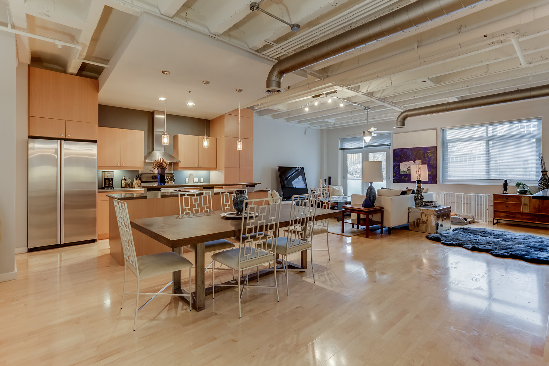 Condominium for Rent at Easy, Elegant Living in a Boutique Loft in the Heart of Midtown 805 Peachtree Street NE No. 201 Atlanta, Georgia 30308 United States