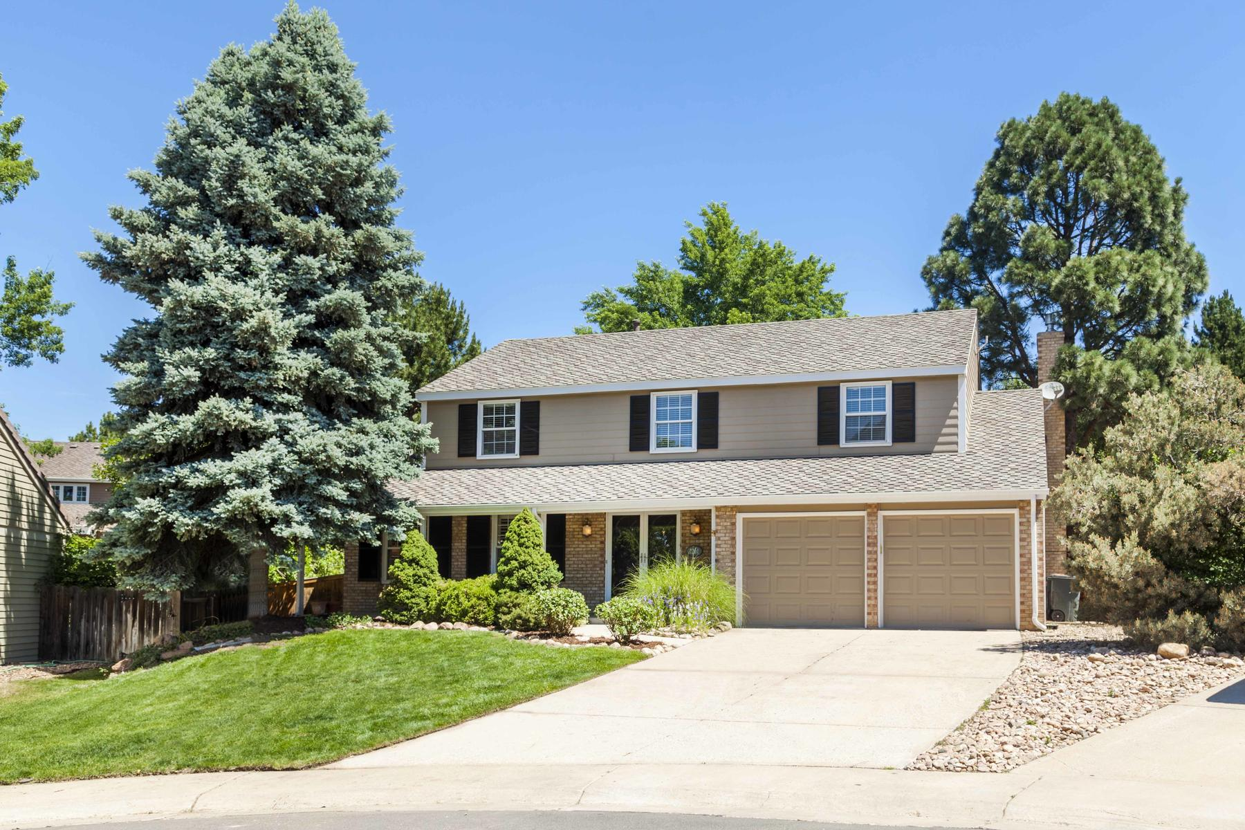 Single Family Home for Active at Welcome To This Remodeled Home In Highly Desirable Homestead 7261 East Hinsdale Avenue Centennial, Colorado 80112 United States