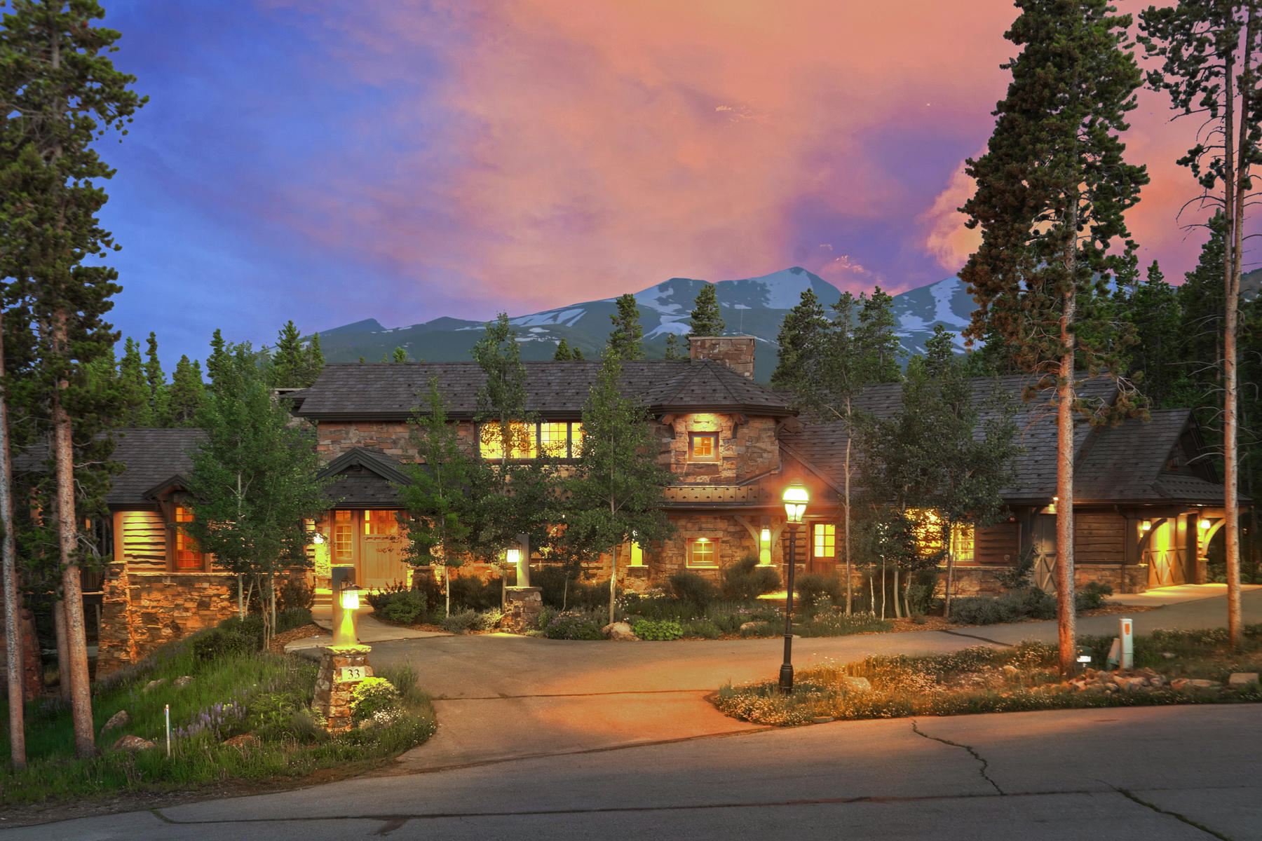Single Family Homes for Active at A One of a Kind Breckenridge Estate 33 Iron Mask Road Breckenridge, Colorado 80424 United States