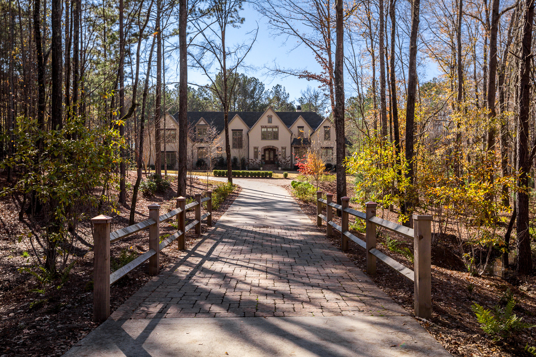 Single Family Home for Sale at Stunning Six Acre Estate - Peachtree City Schools 225 Diamond Point Fayetteville, Georgia 30215 United States