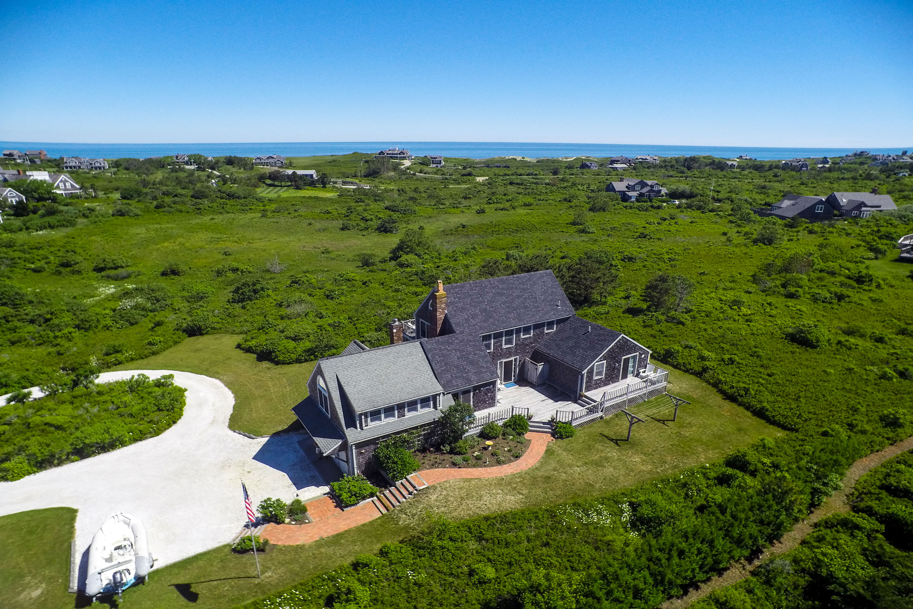 Single Family Home for Sale at Escape to Dionis 16 Alliance Lane Nantucket, Massachusetts, 02554 United States