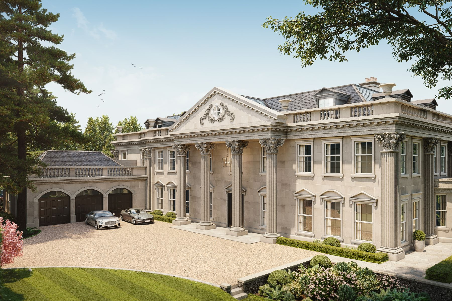 Single Family Homes pour l Vente à Hampton Hall Queens Drive Oxshott, Angleterre KT22 0PB Royaume-Uni