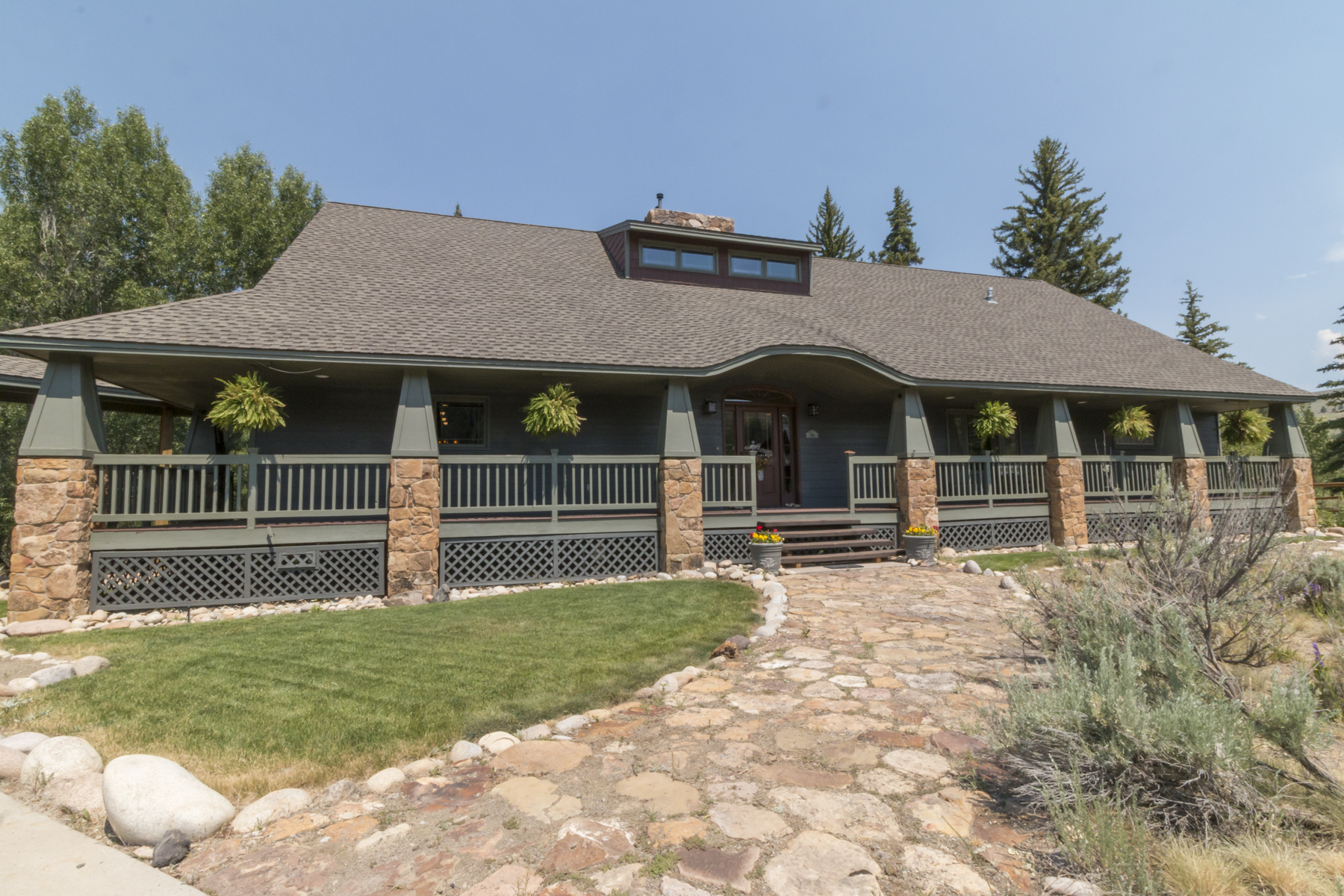 Single Family Home for Active at Outstanding Confluence Home 133 Rainbow Drive Almont, Colorado 81210 United States