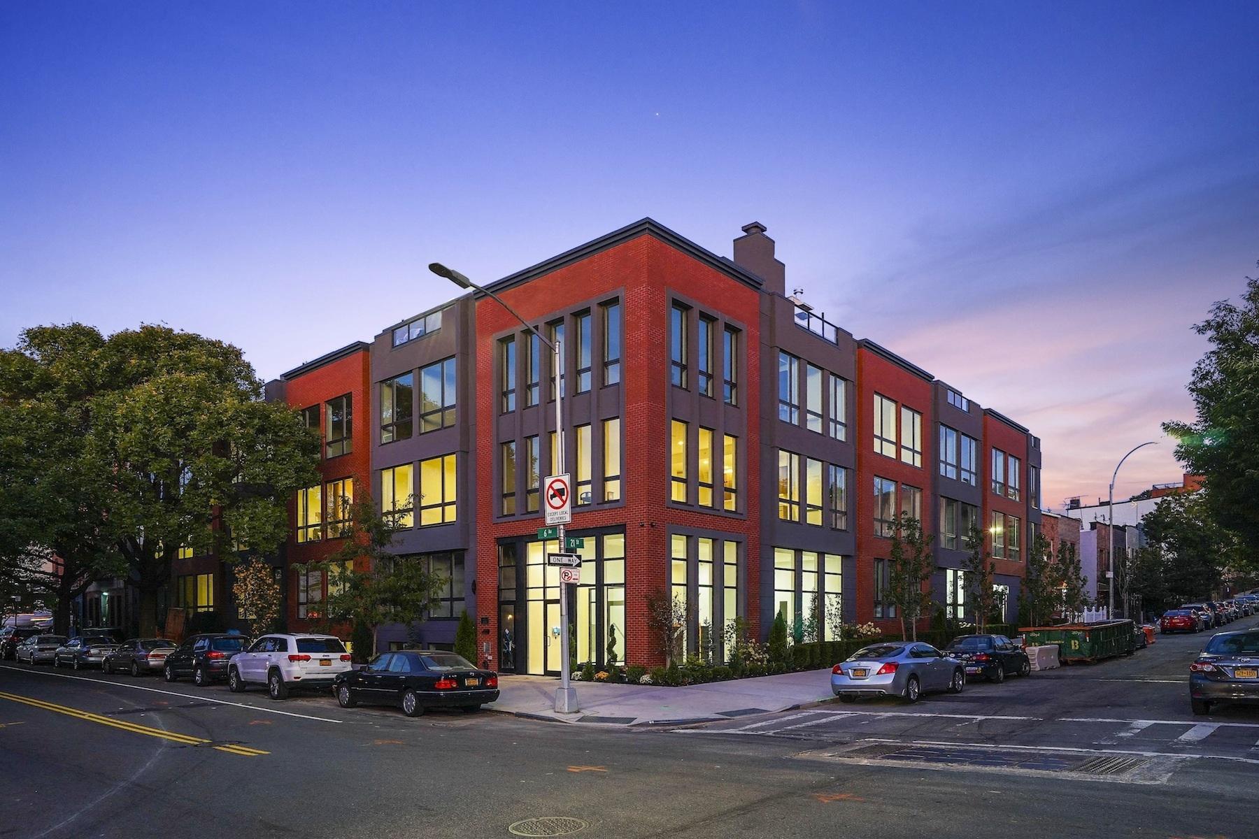 共管式独立产权公寓 为 销售 在 Stanton on Sixth 695 6th Avenue 2D, 布鲁克林, 纽约州, 11215 美国
