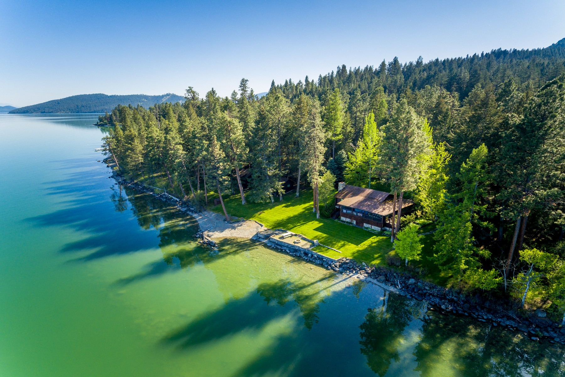 Single Family Homes for Sale at 23168 Rollins Lakeshore Drive Rollins, Montana 59931 United States
