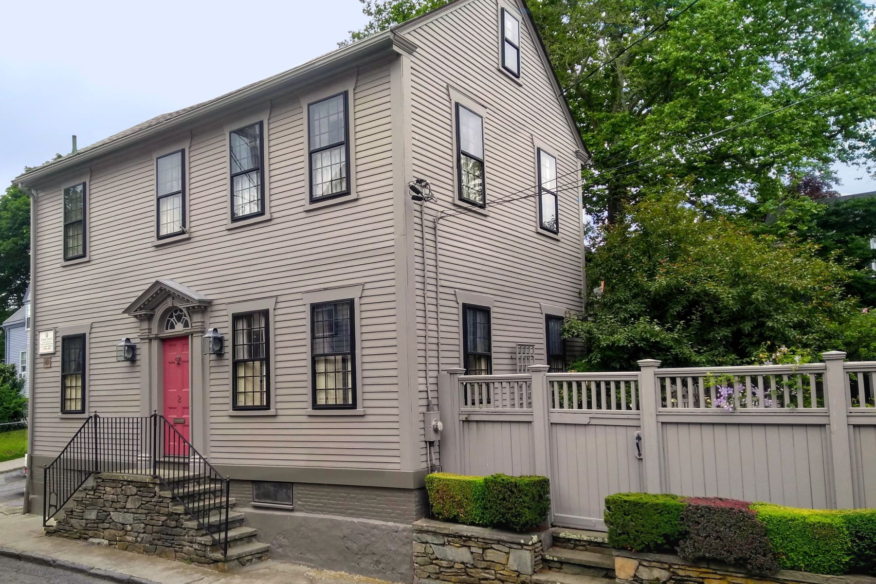 Single Family Homes for Sale at The Corne House 2 Corne Street Newport, Rhode Island 02840 United States