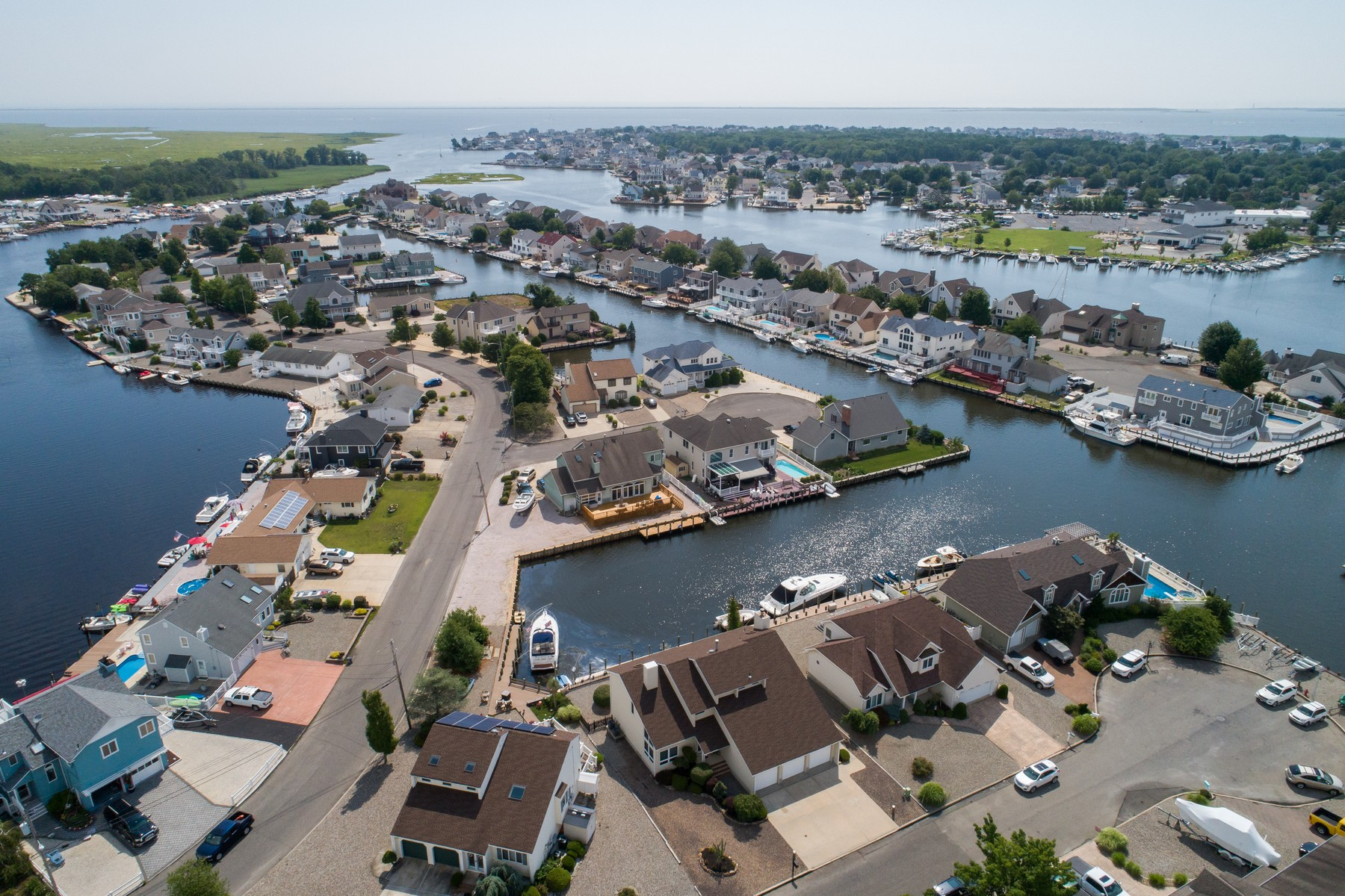 Single Family Homes for Sale at LIVE WATERFRONT 602 Franklin Court Forked River, New Jersey 08731 United States