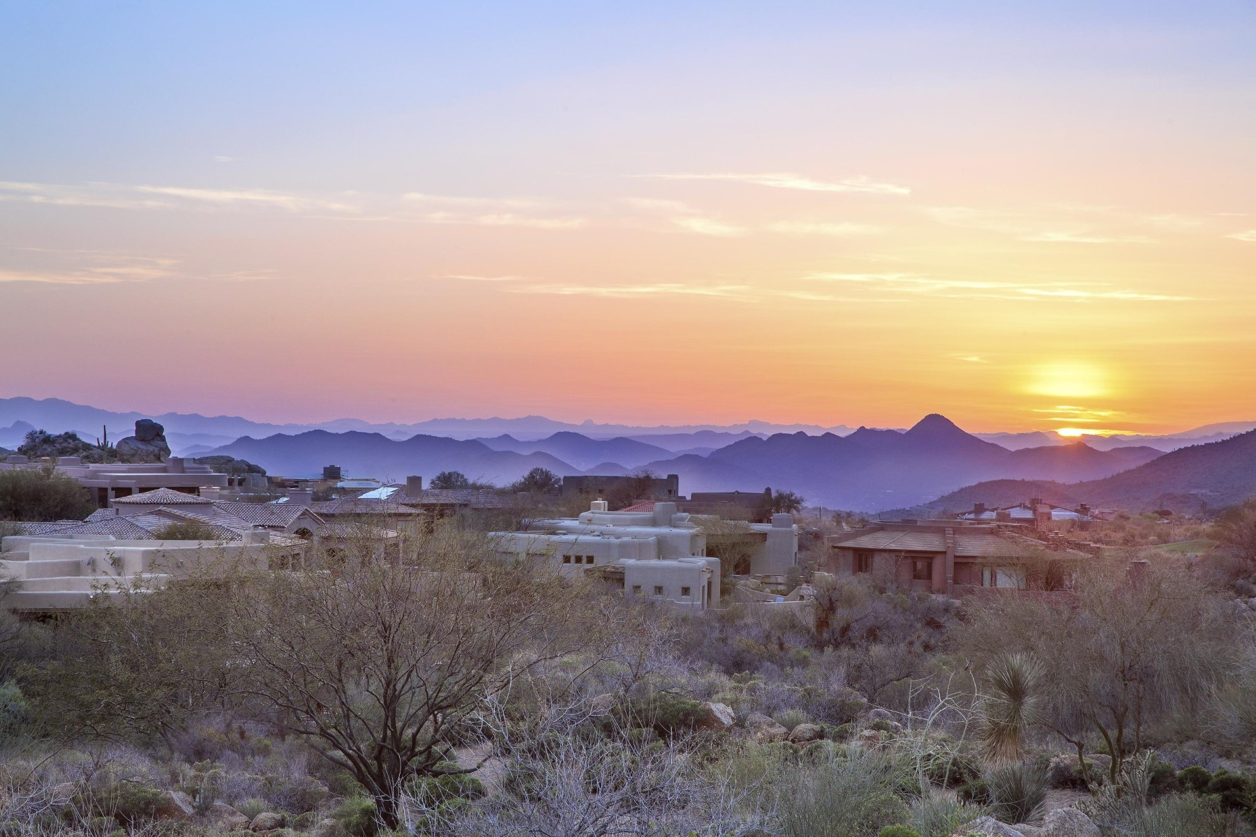 Land for Sale at Elevated homesite in Desert Mountain's Village of Arrowhead 41047 N 109th Pl lot 3, Scottsdale, Arizona, 85262 United States