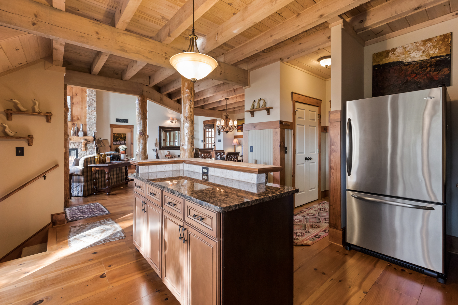 Additional photo for property listing at Rustic Elegance with Magnificent Mountain Views 1003 Deer Run Ridge, Big Canoe, ジョージア 30143 アメリカ