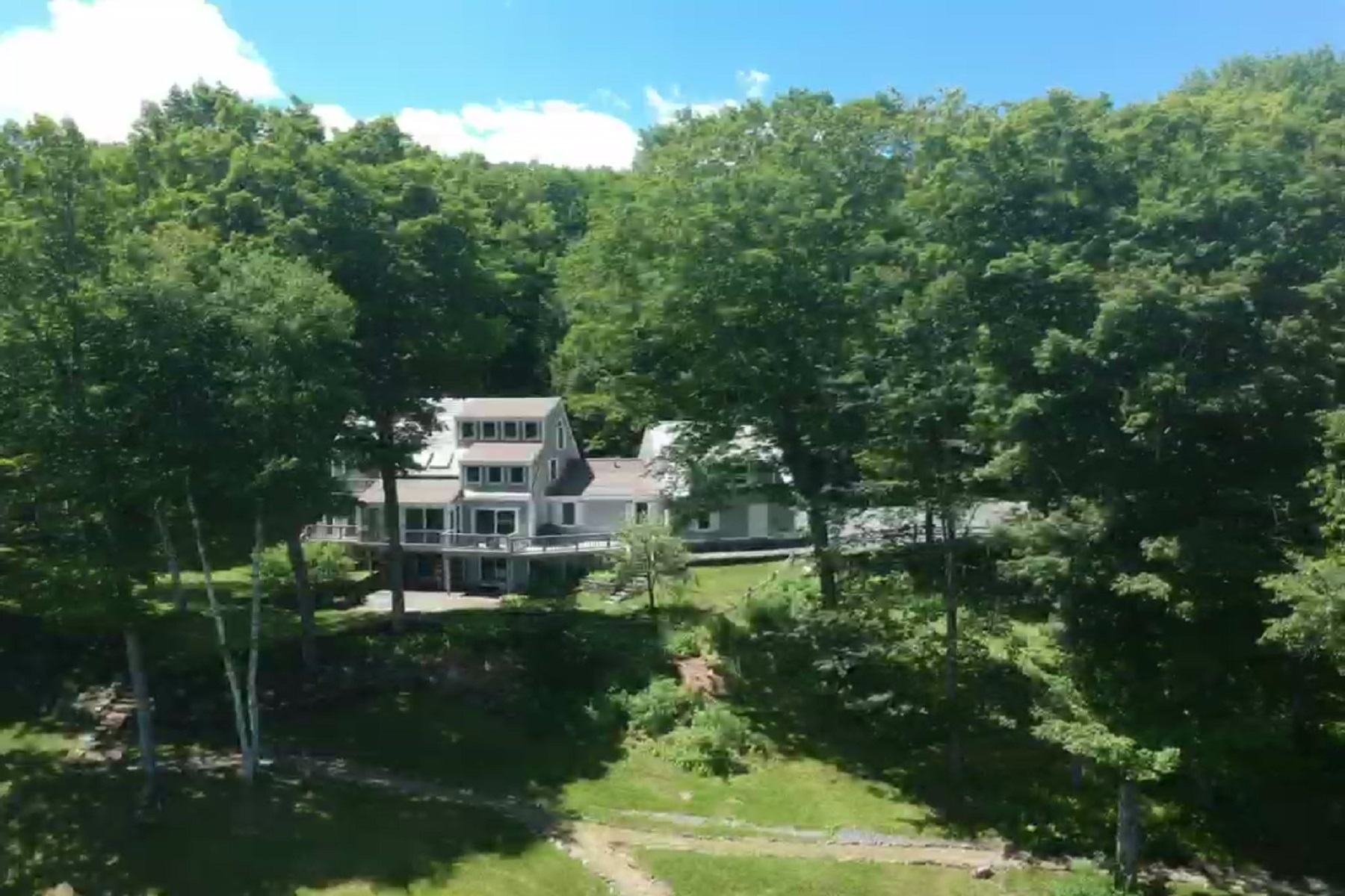 Single Family Homes for Sale at Pristine Long-Range Views 343 Spruce Way Woodstock, Vermont 05091 United States
