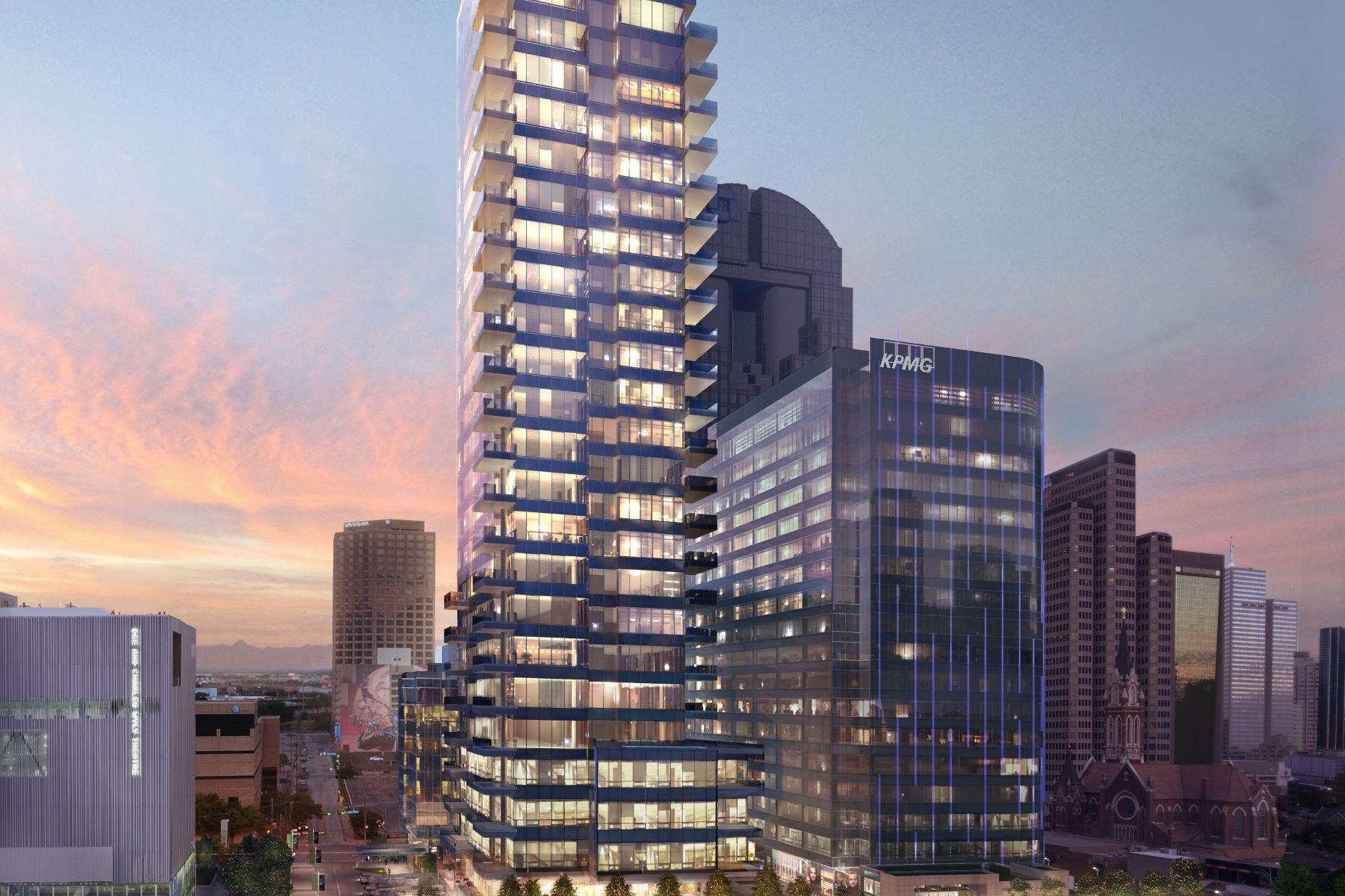 Condominiums por un Venta en Hall Arts Residences 1747 Leonard Street #901 Dallas, Texas 75201 Estados Unidos