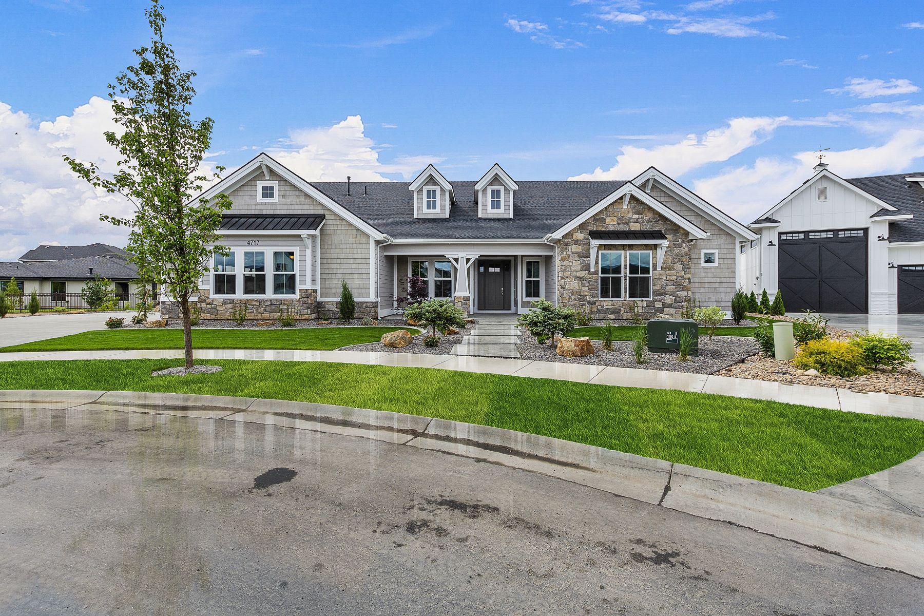Single Family Homes por un Venta en 4717 Salix Court Meridian, Idaho 83646 Estados Unidos