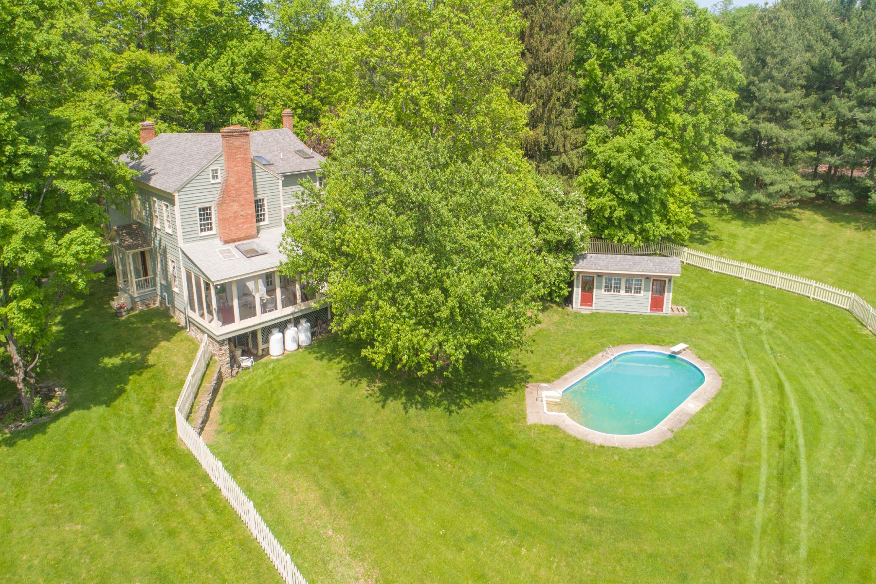 Single Family Homes for Sale at Chatham Landmark 7 Thomas Rd. Chatham, New York 12184 United States
