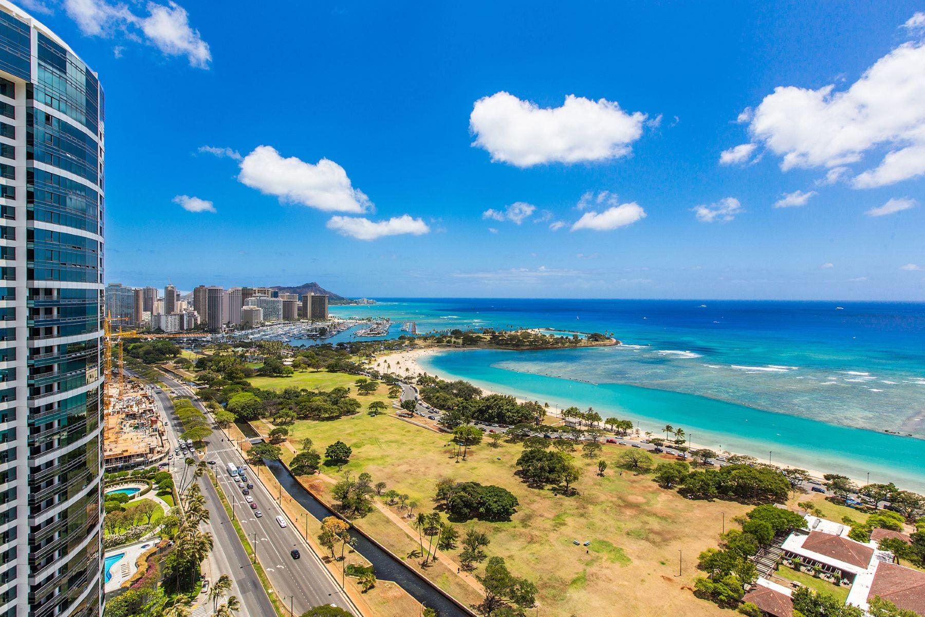 Condominium for Sale at Premier Ocean Views 1288 Ala Moana Boulevard #29E Honolulu, Hawaii 96814 United States