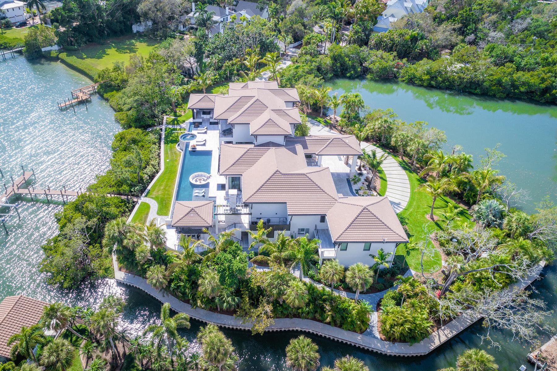 Single Family Home for Sale at BAY ISLAND 3799 Flamingo Ave Sarasota, Florida 34242 United States
