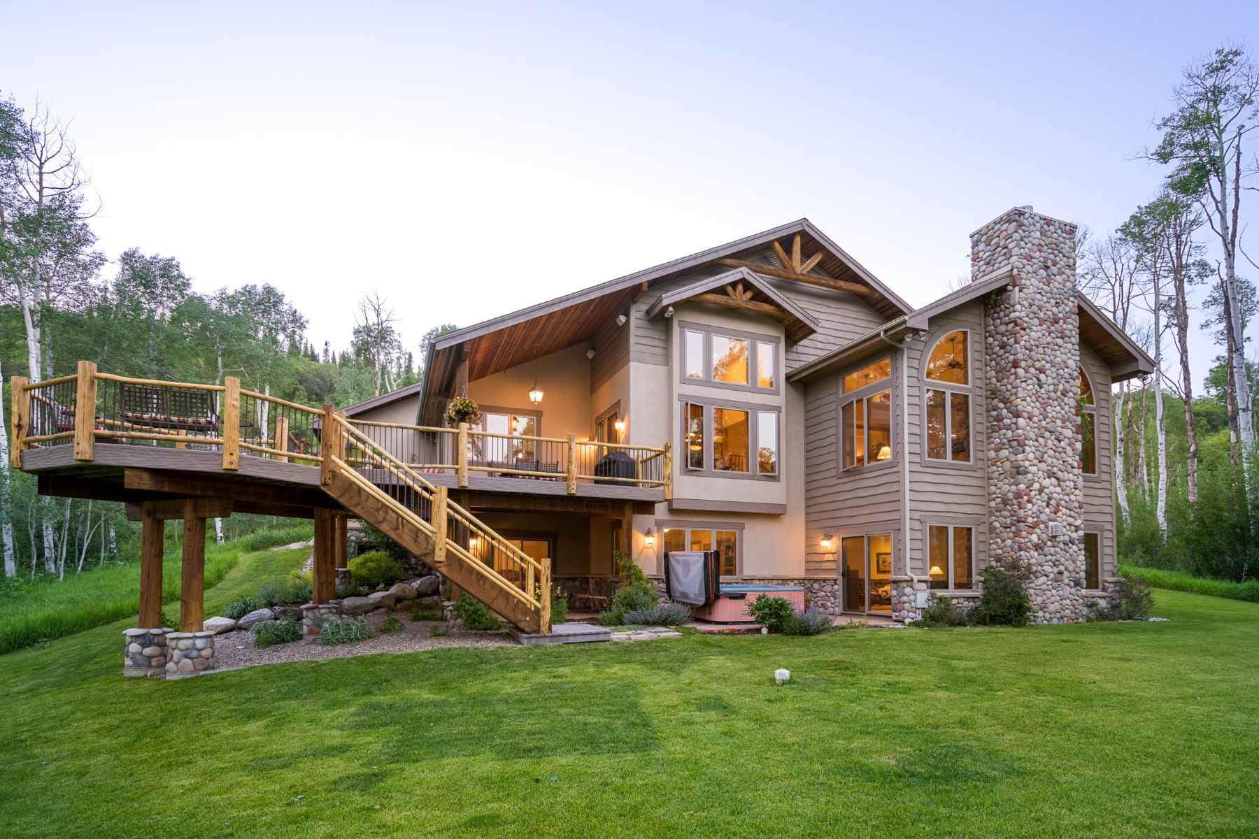 Additional photo for property listing at Luxury Mountain Home in Aspen Trees 31570 Aspen Ridge Road Steamboat Springs, Colorado 80487 Estados Unidos