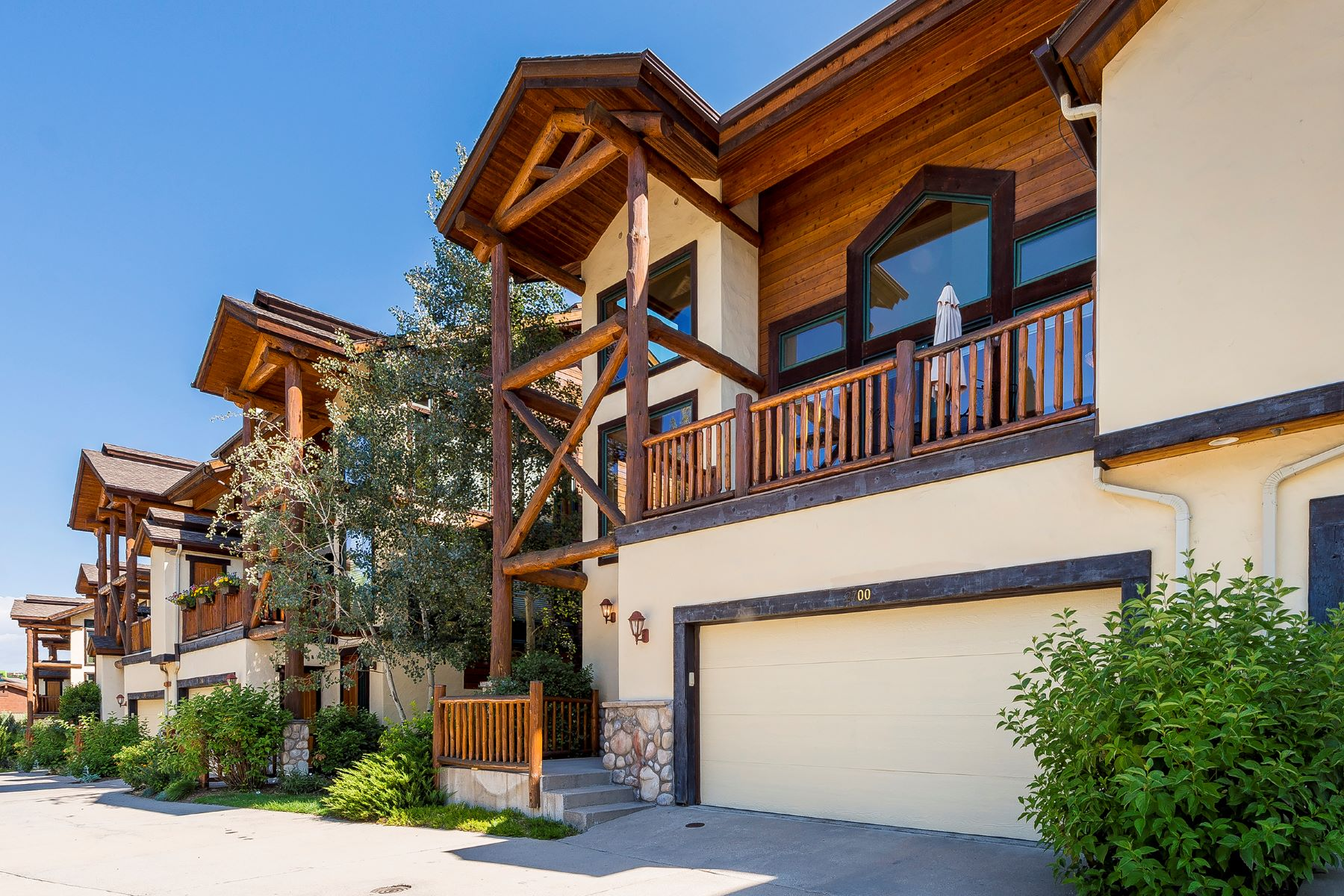 Townhouse for Sale at Large, Lofted Mountain Townhome 2700 Cross Timbers Trail Steamboat Springs, Colorado 80487 United States