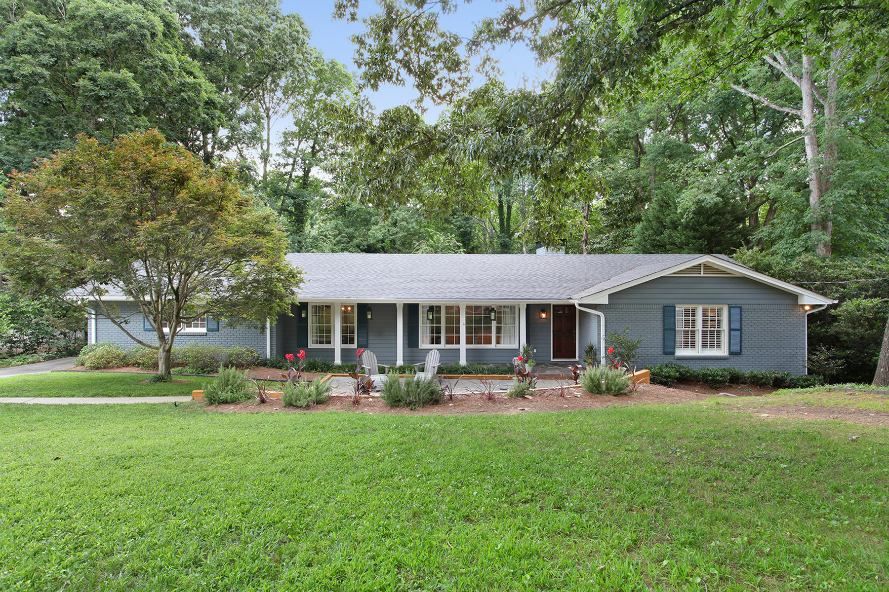 Single Family Home for Sale at Wonderful Renovation At Chastain 4610 Brook Hollow Drive NW Chastain Park, Atlanta, Georgia, 30327 United States