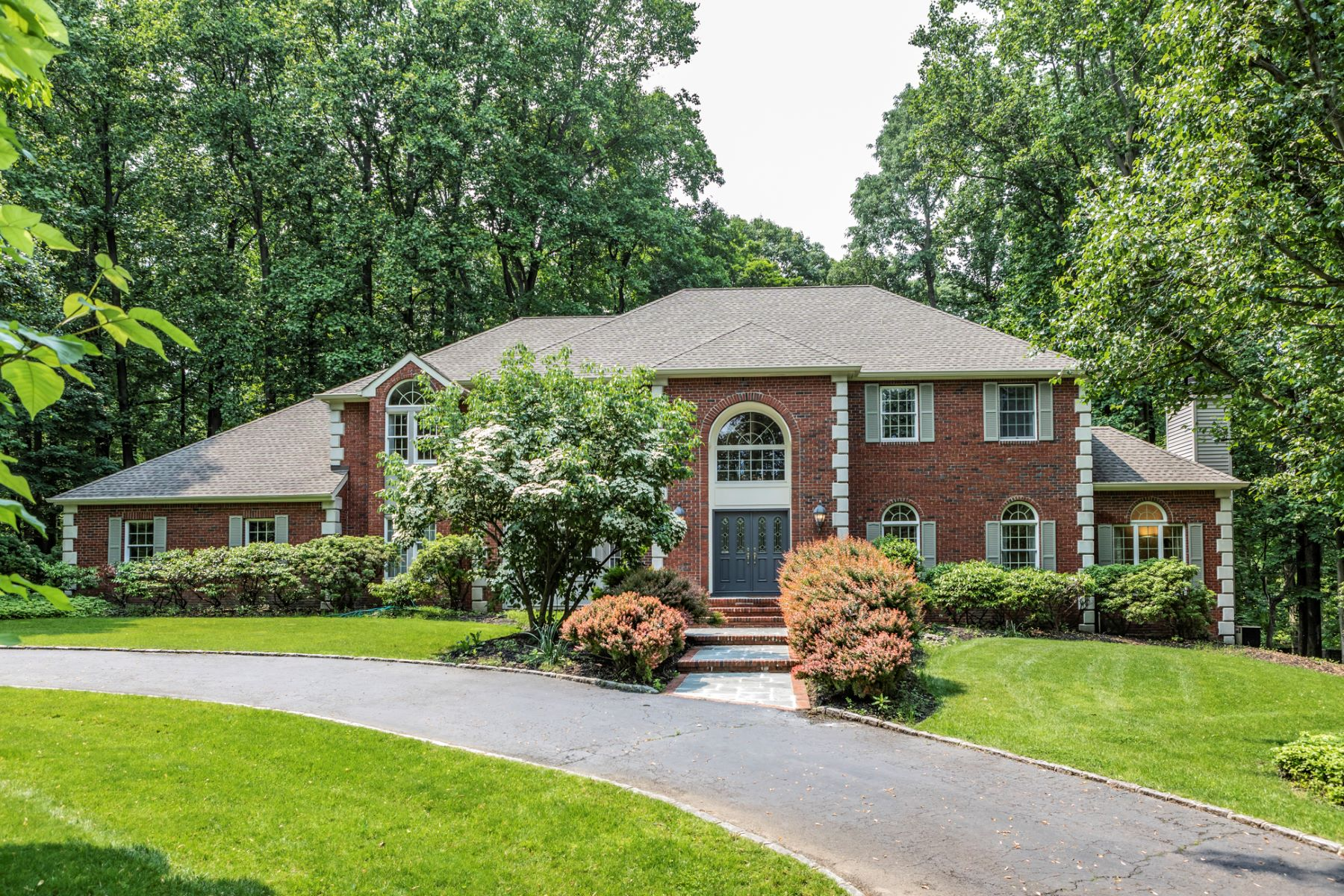 single family homes for Sale at Fine Quality in This Princeton Ridge Colonial 165 Arrenton Road, Princeton, New Jersey 08540 United States