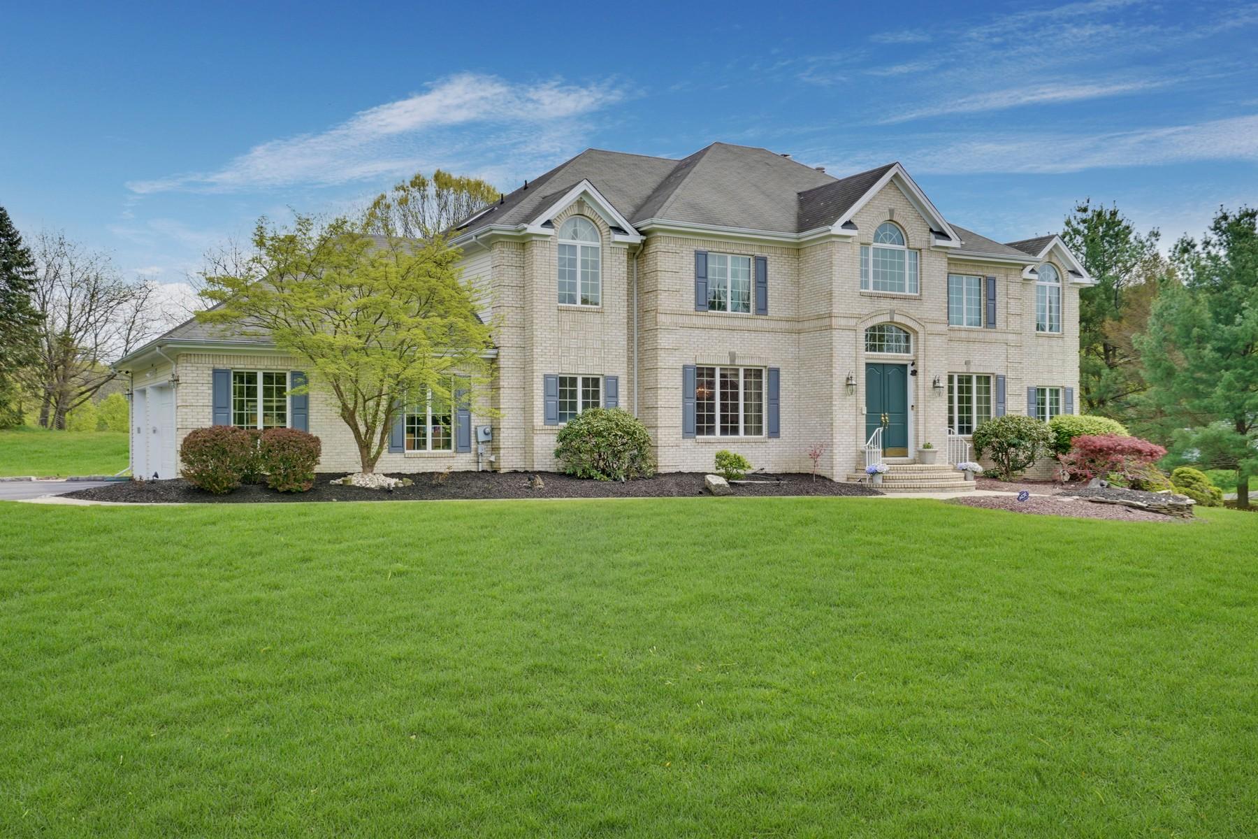 Single Family Homes por un Venta en Exceptional Brick Colonial 2 Bordeaux Lane, Holmdel, Nueva Jersey 07733 Estados Unidos