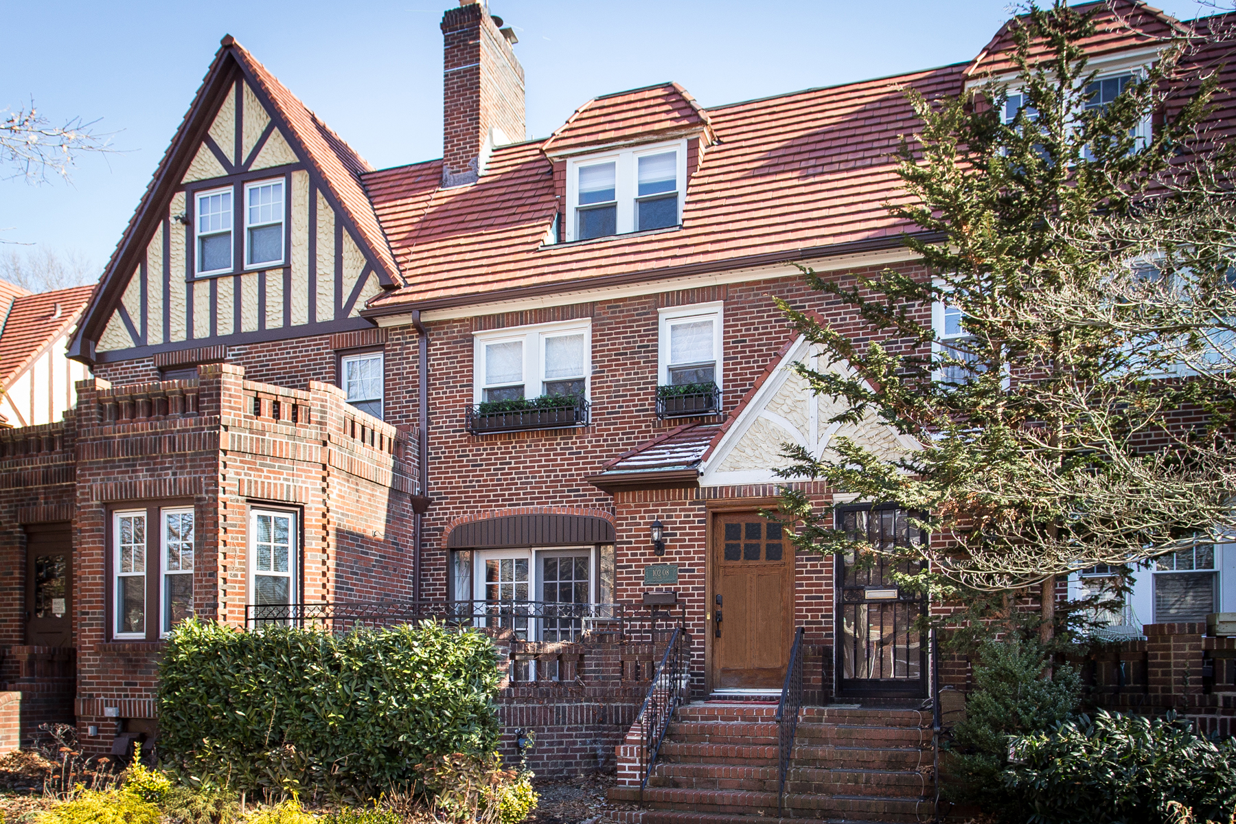 """townhouses for Active at """"ENGLISH COUNTRY TOWNHOUSE"""" 102-08 Ascan Avenue, Forest Hills, New York 11375 United States"""