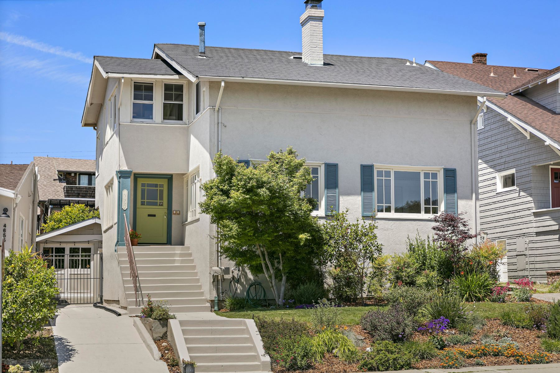 Multi-Family Homes for Sale at Choose Your Community & Love Where You Live 4657 Park Boulevard Oakland, California 94602 United States