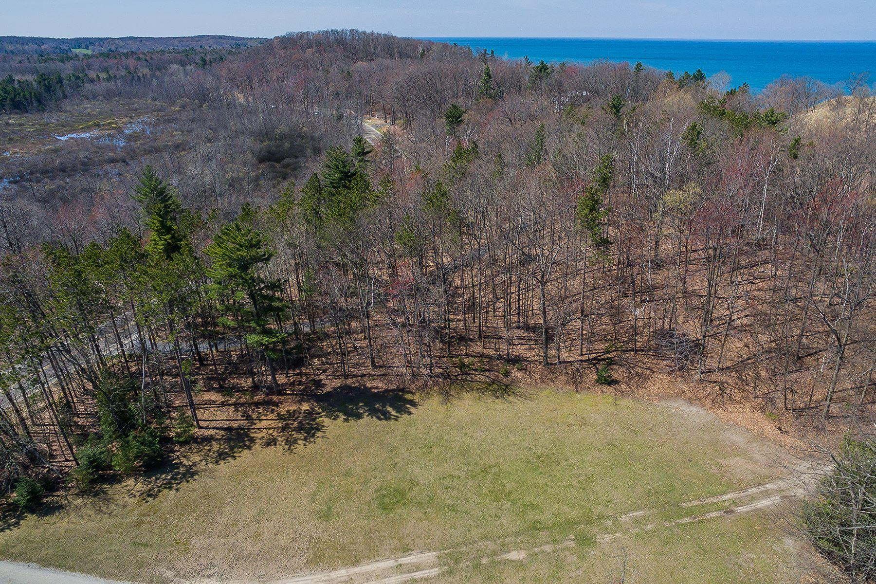 Land for Sale at Serene Lakeshore Property 4500 Lakeshore Road Lot 6 Manistee, Michigan 49660 United States