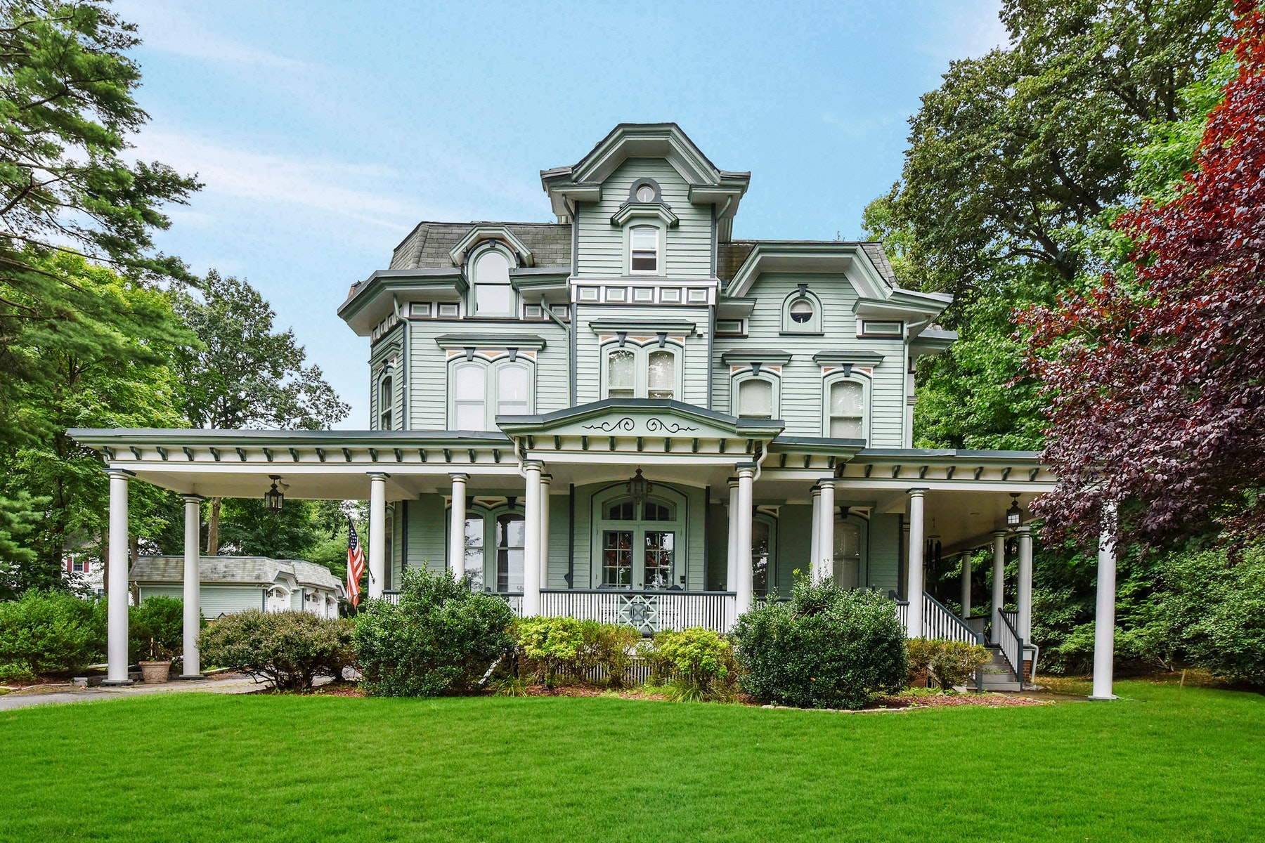 Single Family Homes for Sale at Presenting The Iconic Thomas Wallington House Circa 1867. 226 Prospect Street Ridgewood, New Jersey 07450 United States