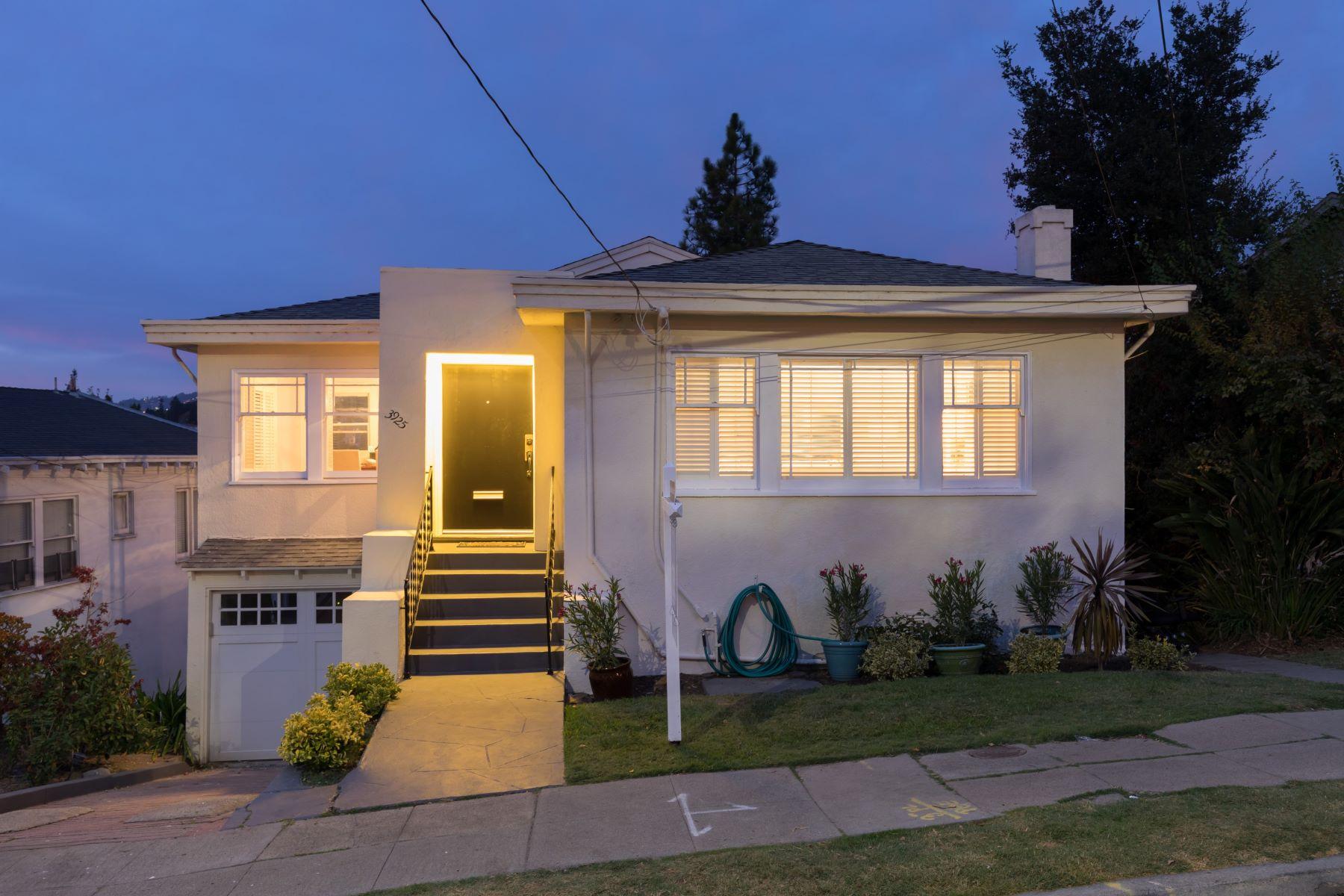 Single Family Homes for Sale at Crocker Highlands Craftsman 3925 Balfour Avenue Oakland, California 94610 United States