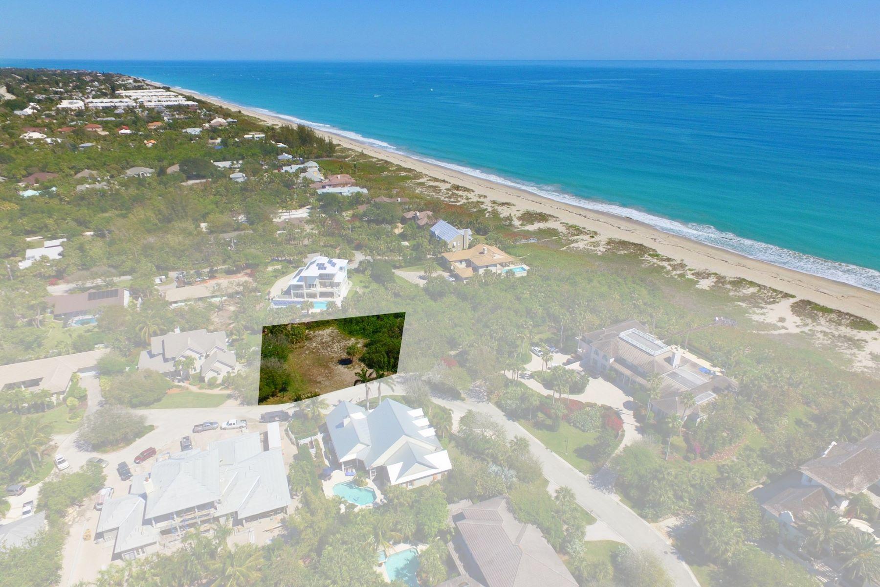 土地 为 销售 在 Ideal Homesite for Your Dream Home! 2216 E Ocean Oaks Lane 维罗海滩, 佛罗里达州, 32963 美国