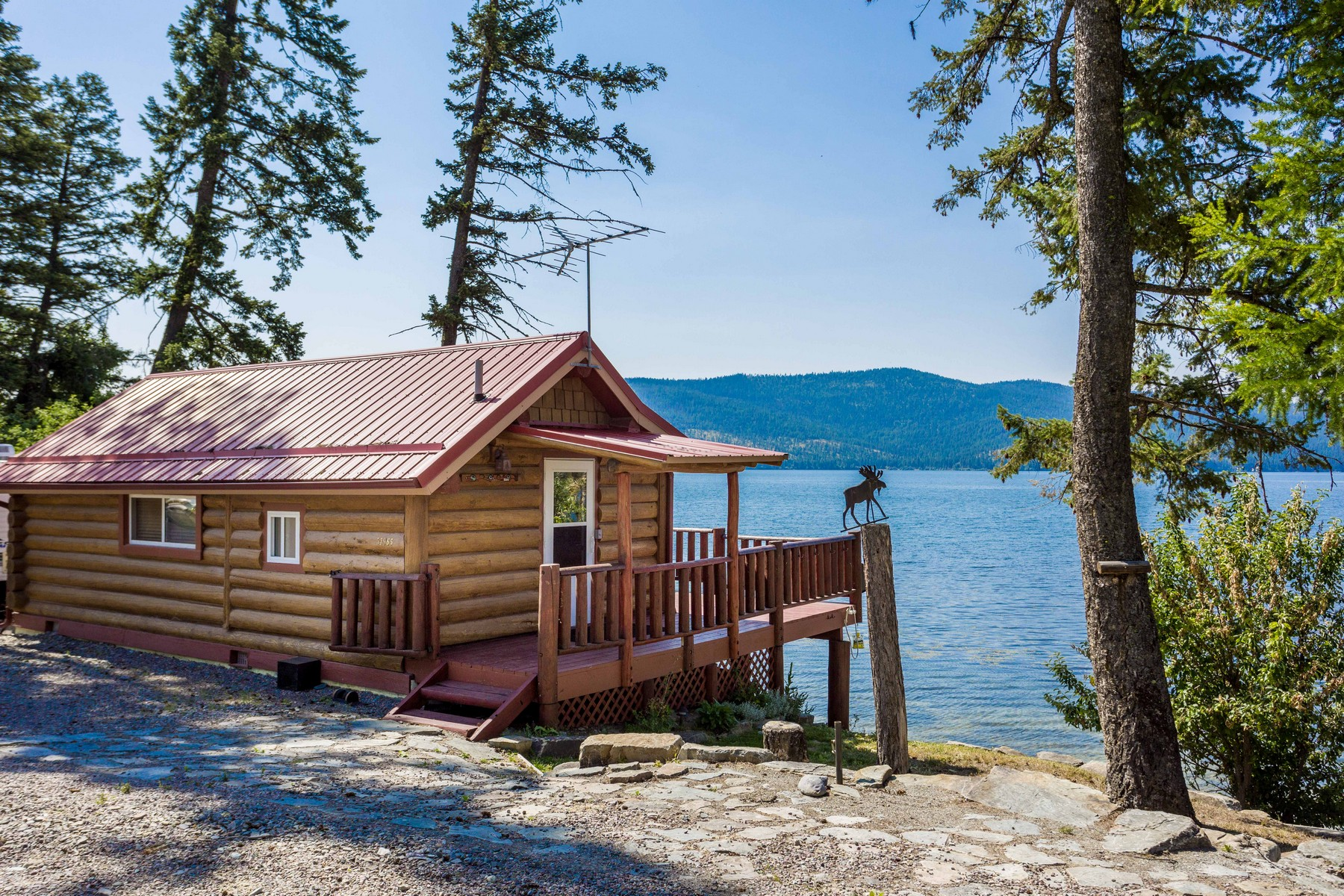 Single Family Homes for Sale at 51965 Lake Mary Ronan Road Proctor, Montana 59929 United States