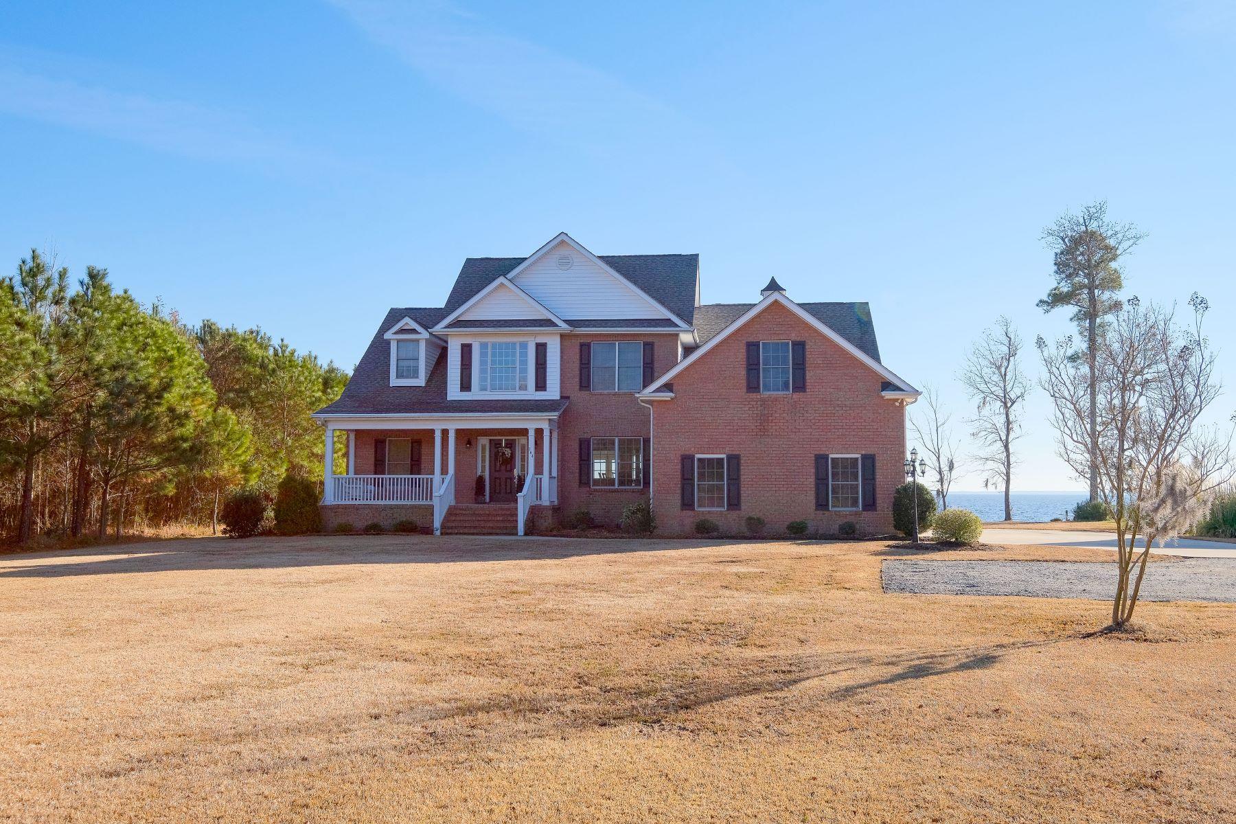 Maison unifamiliale pour l Vente à SPACIOUS WATERFRONT HOME 144 Osprey Dr Edenton, Carolina Du Nord, 27932 États-Unis