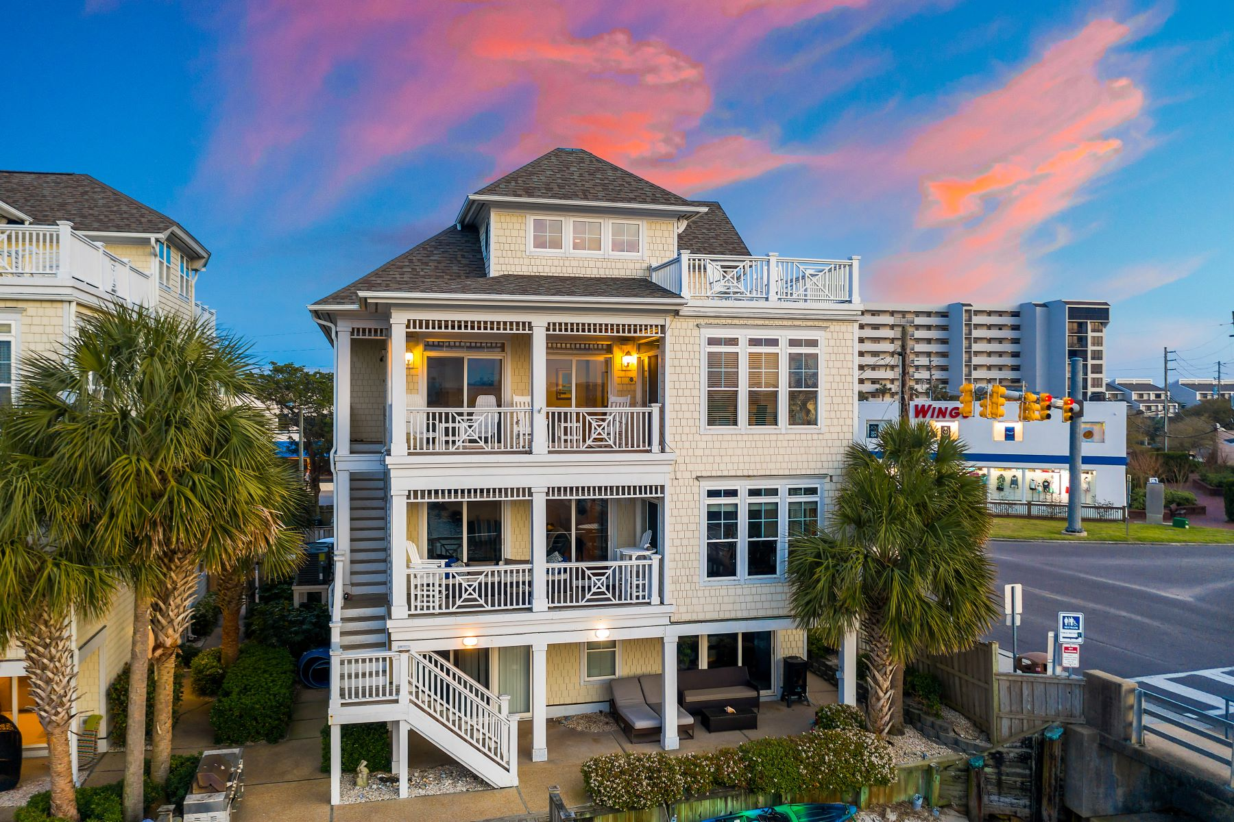 Condominiums for Sale at Condo with Sunrise and Sunset Views 20 Channel Ave A Wrightsville Beach, North Carolina 28480 United States
