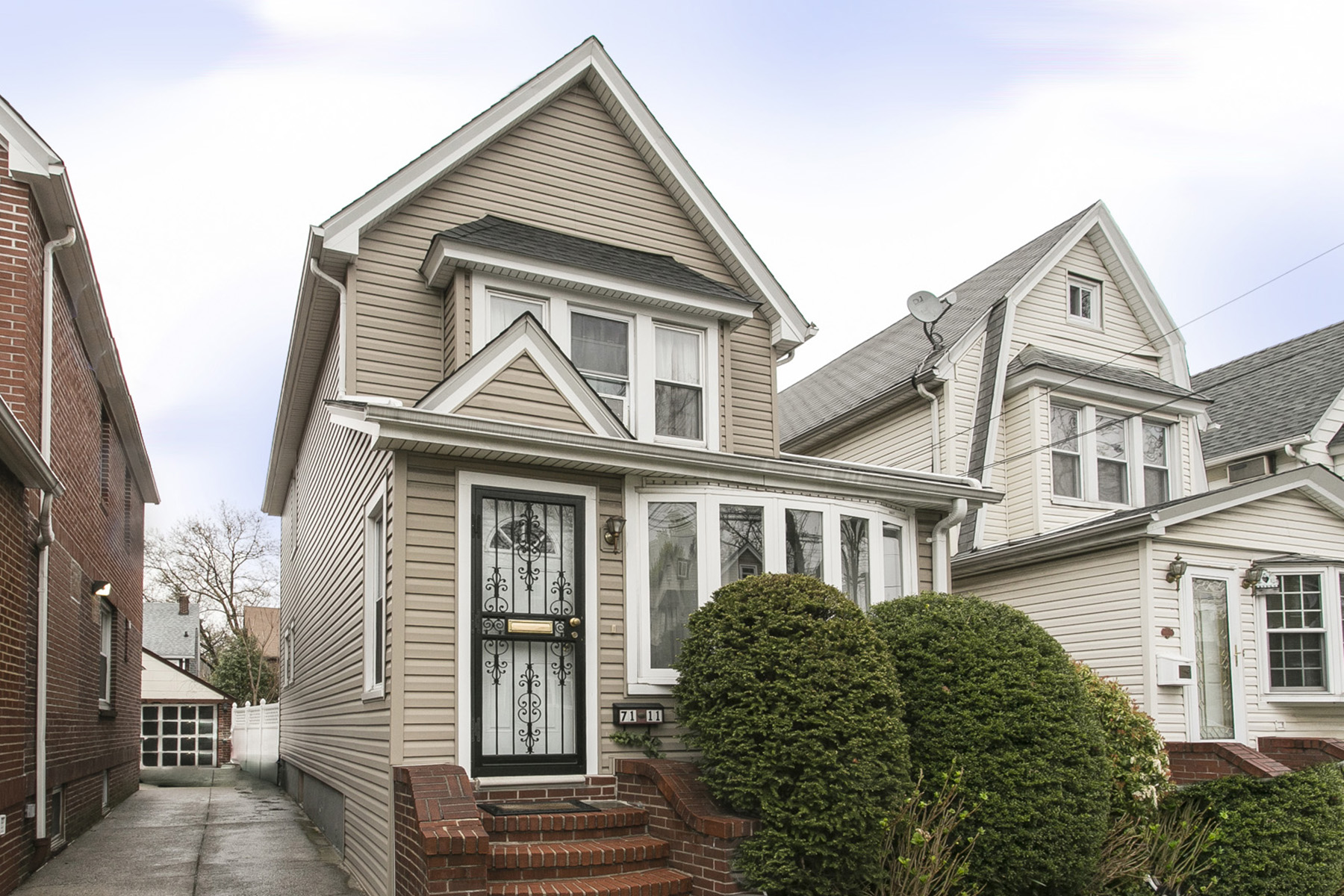 """Single Family Home for Rent at """"3 BEDROOM DETACHED FRAME HOUSE"""" 71-11 Manse Street, Forest Hills, New York 11375 United States"""