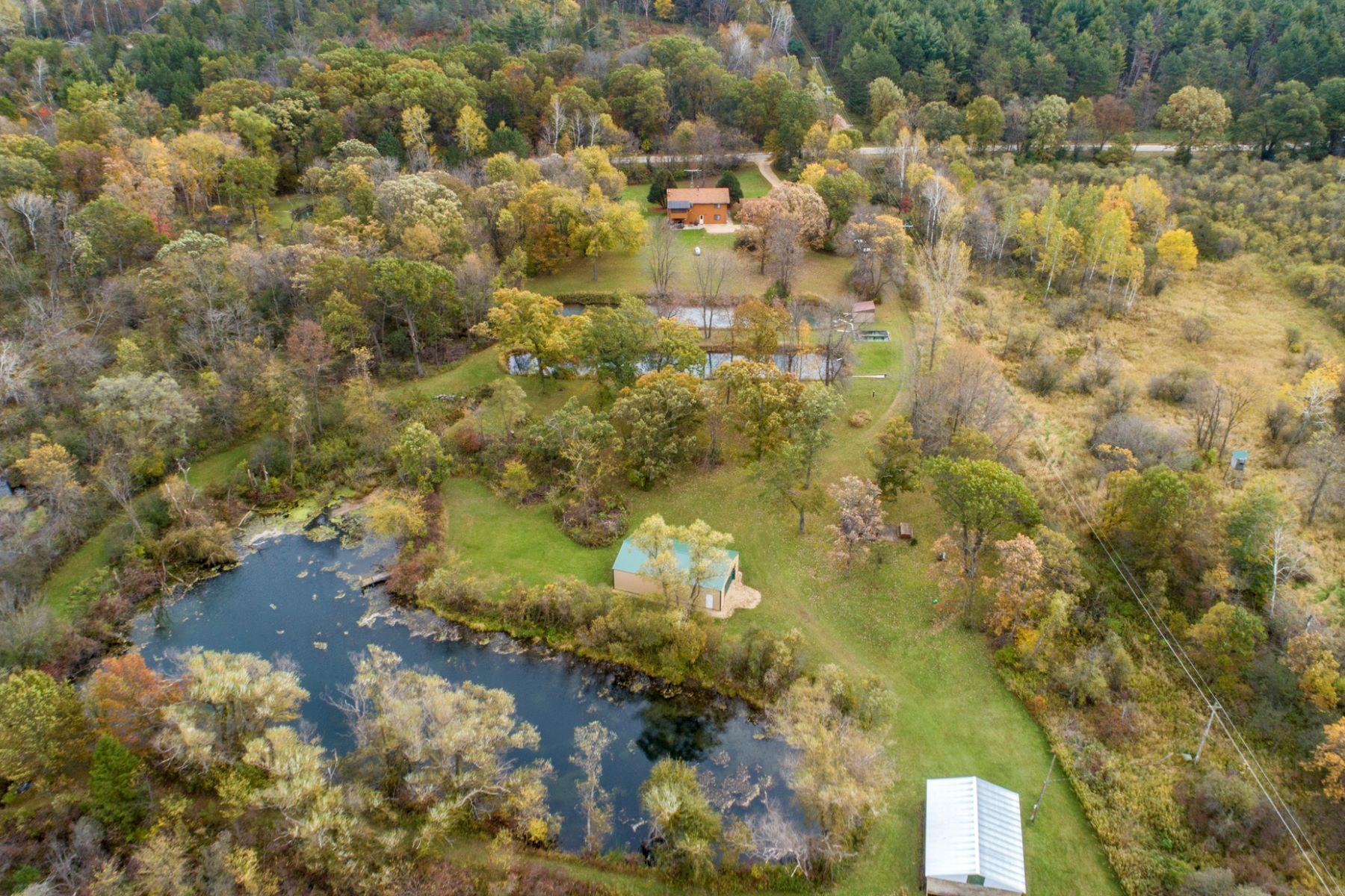 土地,用地 为 销售 在 Romeo Springs N3505 6th Road Oxford, 威斯康星州 53952 美国