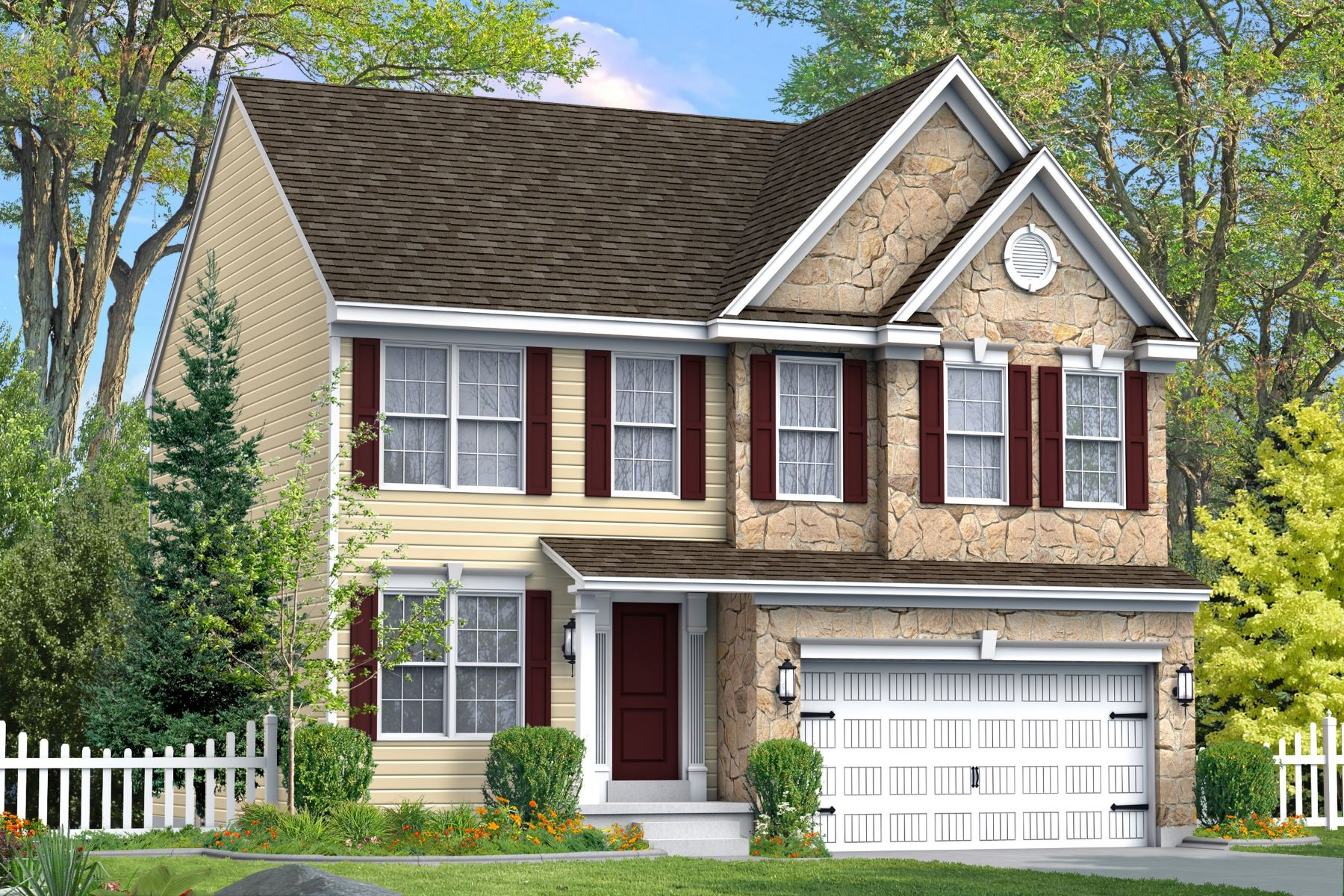 Single Family Homes for Sale at New Construction Colonial in Briarcliff 561 Sandpiper Lane, New Cumberland, Pennsylvania 17070 United States