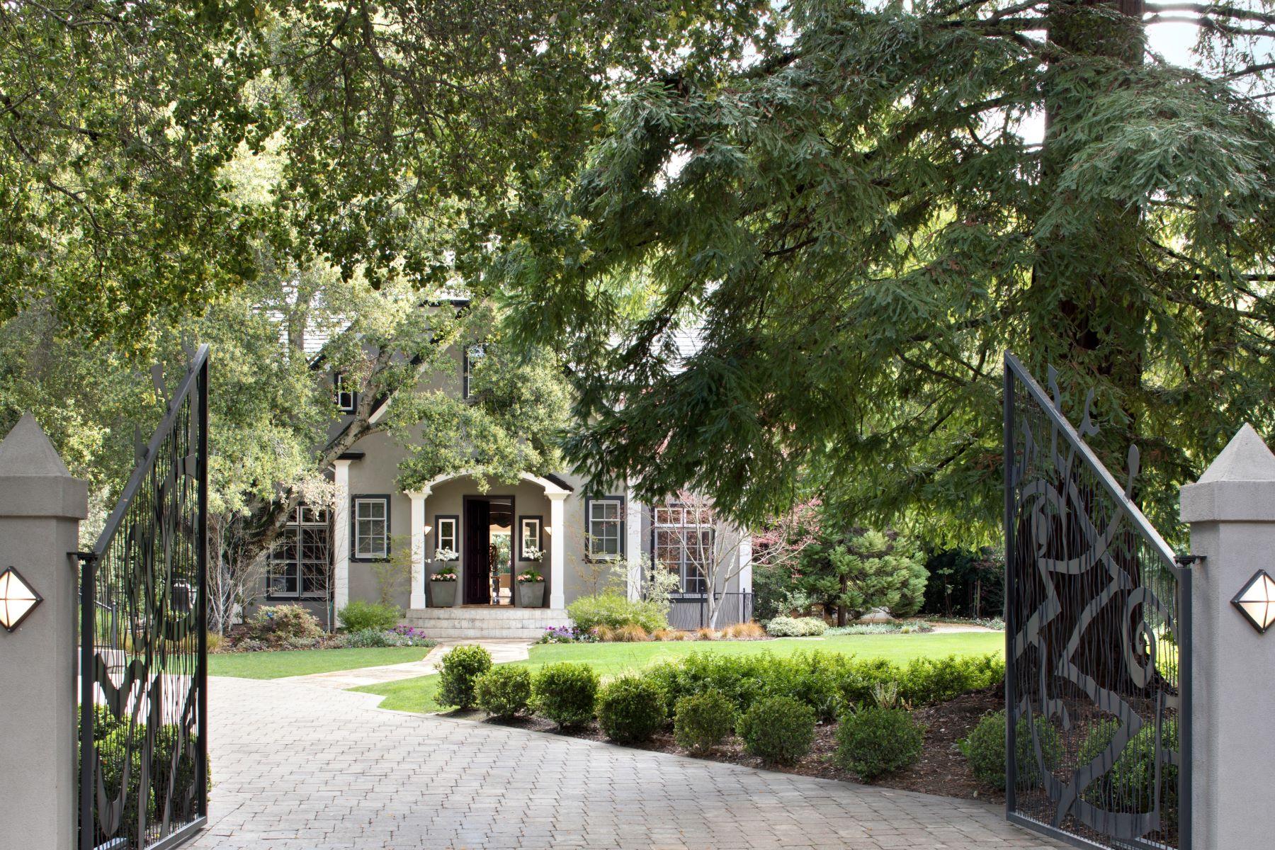 Maison unifamiliale pour l Vente à 83 Tuscaloose Ave 83 Tuscaloosa Ave Atherton, Californie 94027 États-Unis