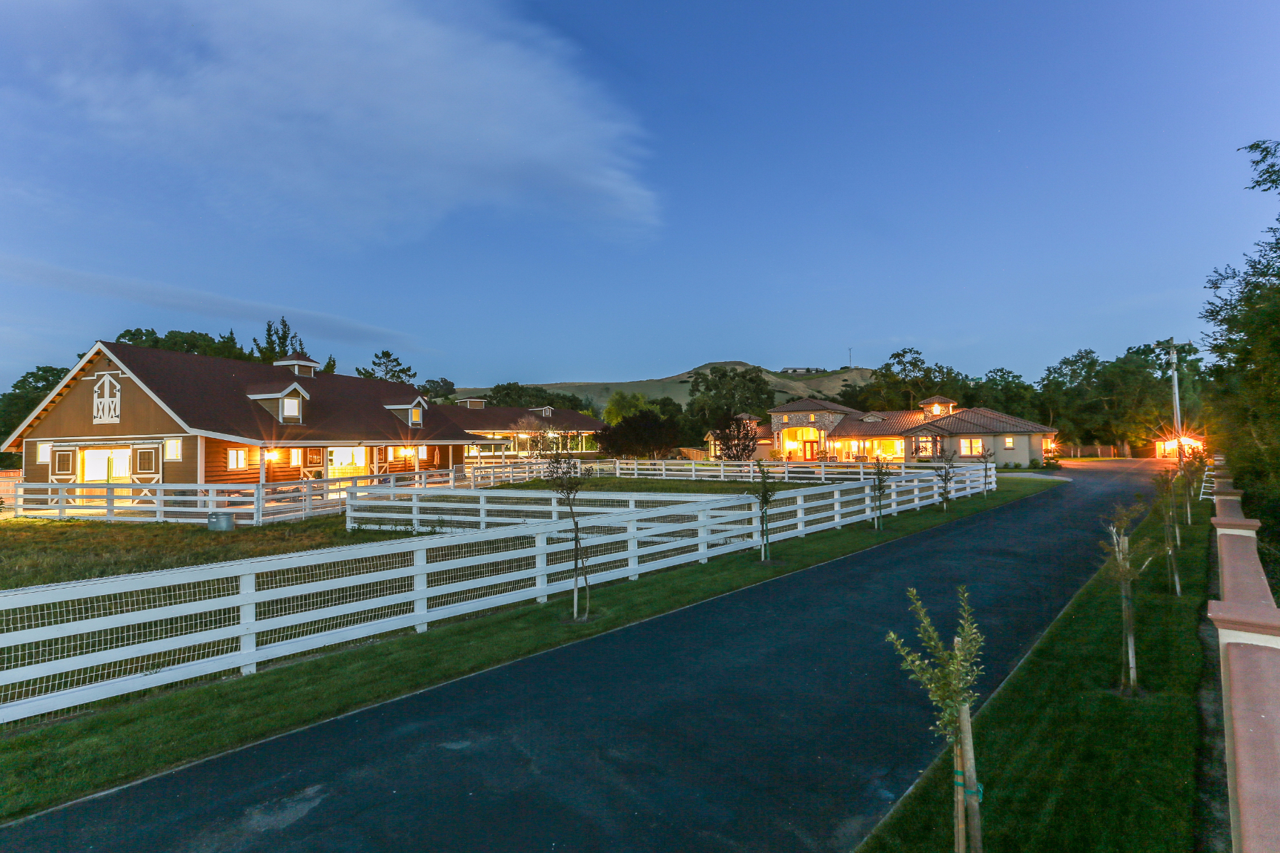Single Family Home for Sale at Villa Bianchi an Impressive Equestrian Estate! 5530 Johnston Rd Danville, California 94506 United States